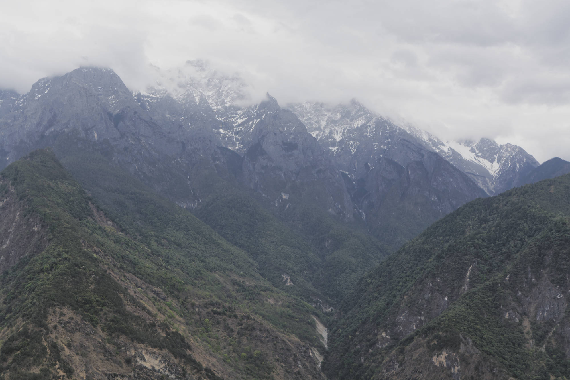 Yulong massif du Dragon de Jade