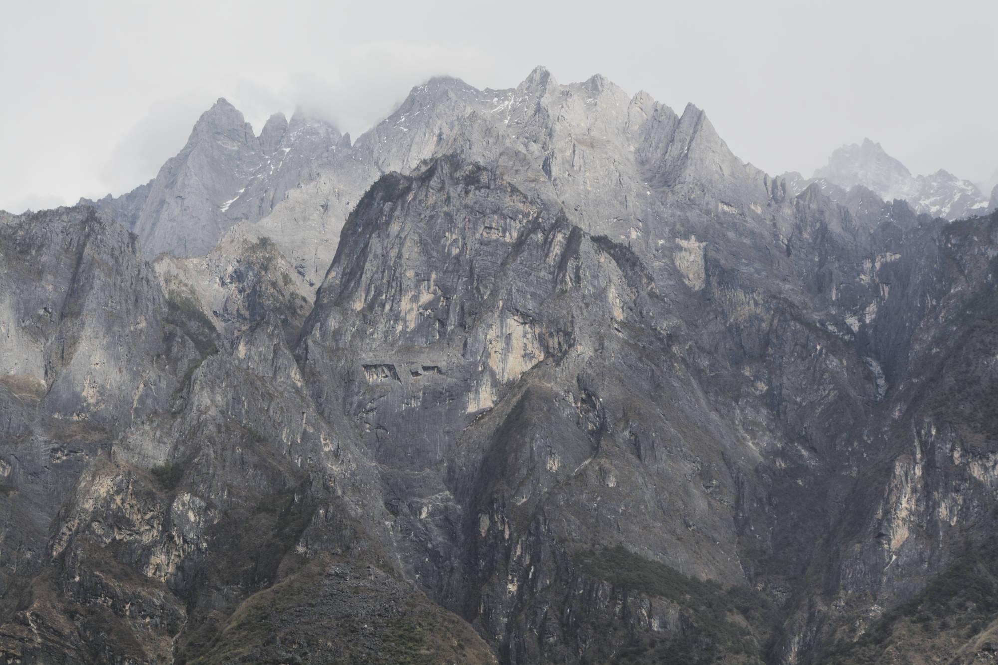 Parois ouest du Yulong xueshan