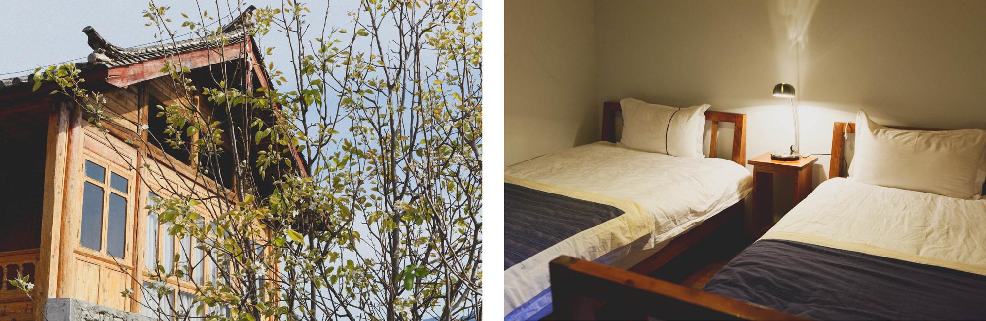 Huahuasei lodge : maison et chambre