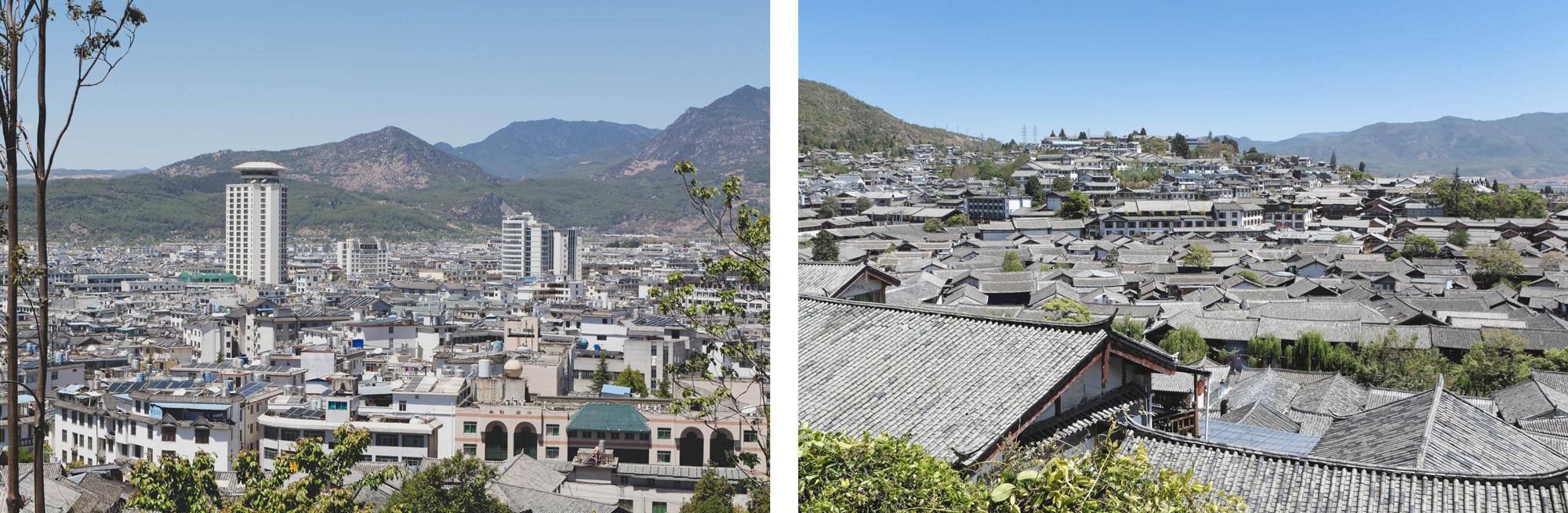 Vues sur la ville de Lijiang