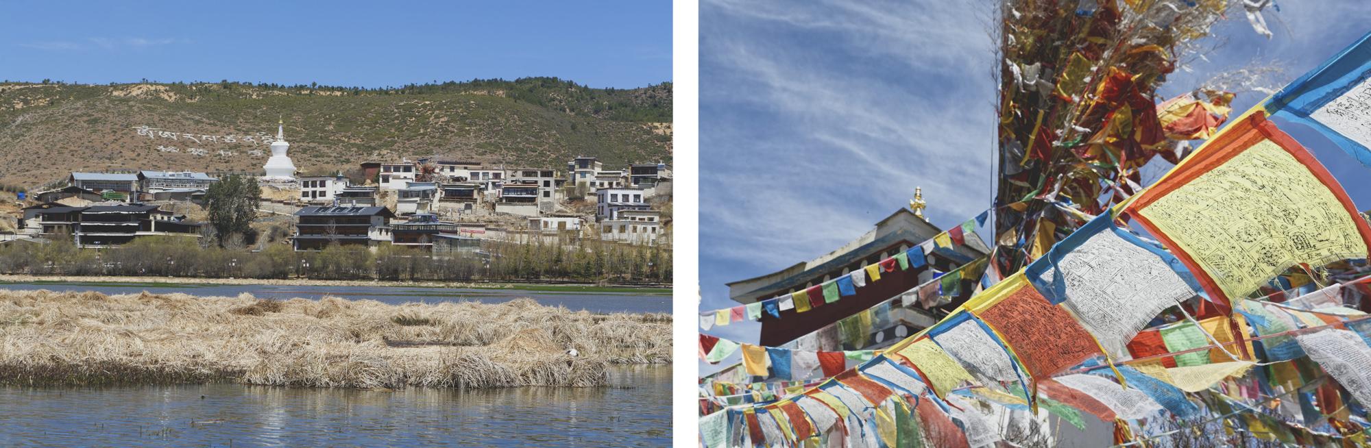 Aux alentours du monastère de Songzanlin à Shangri-La