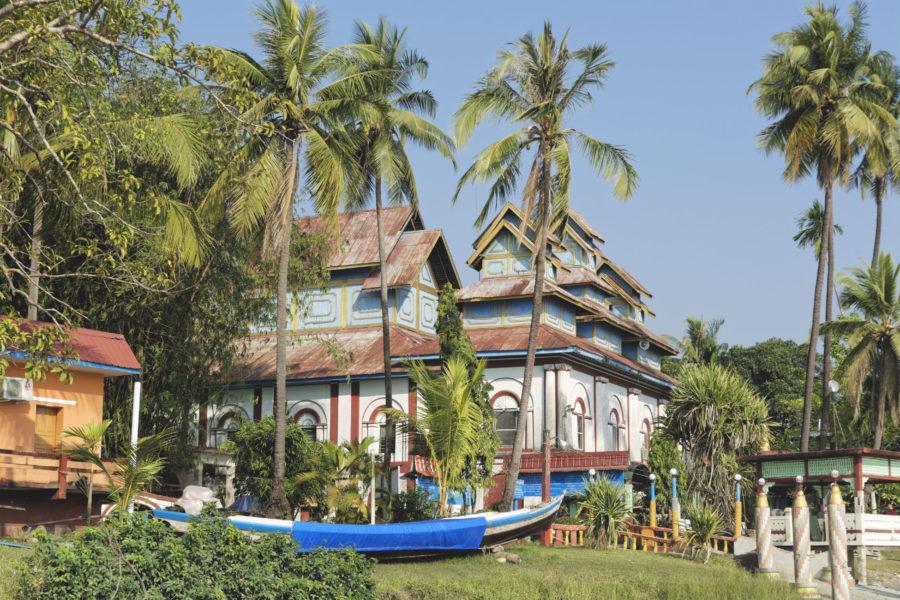 Île du Shampoing Mawlamyine Myanmar