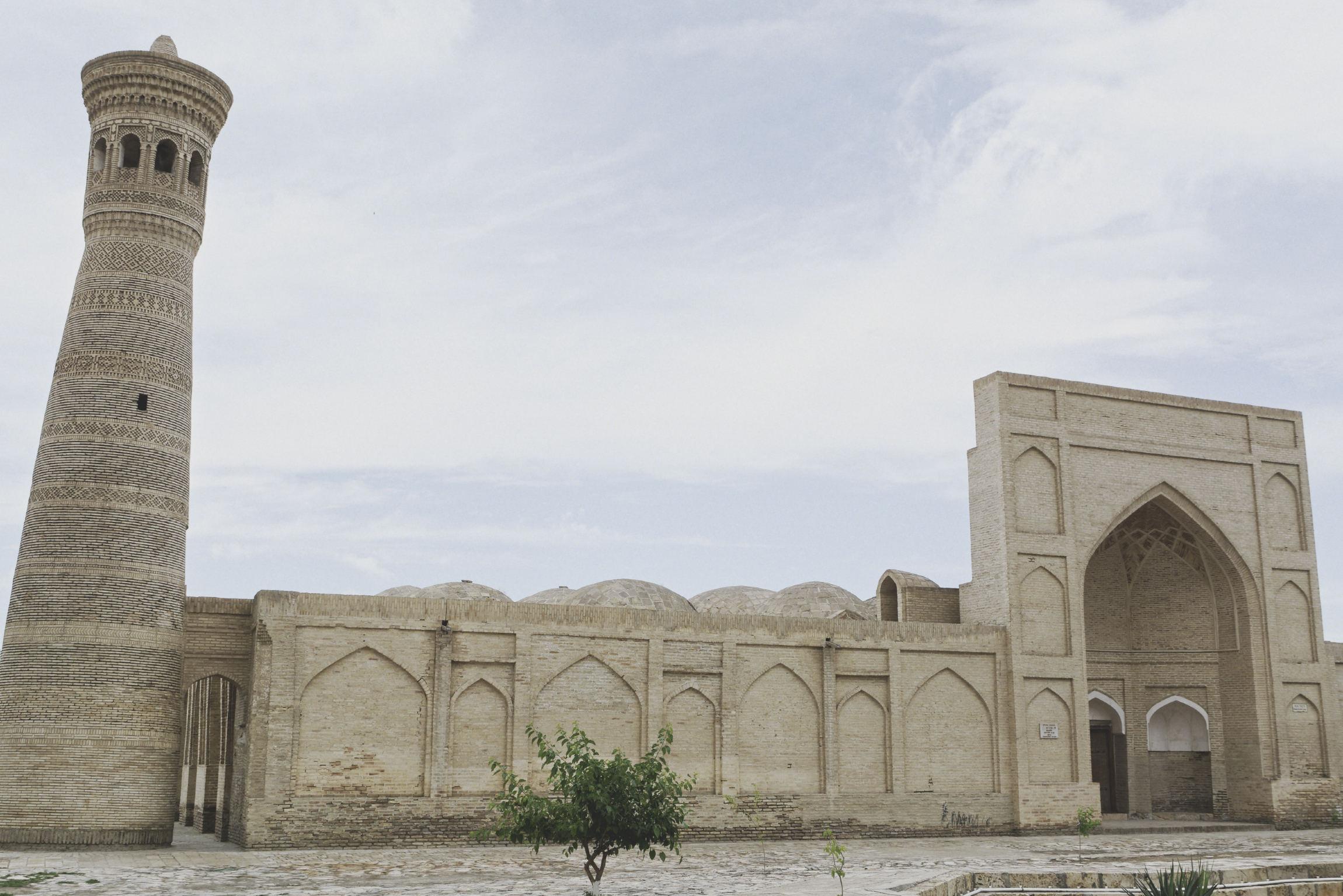 Visite Boukhara : minaret et médersa