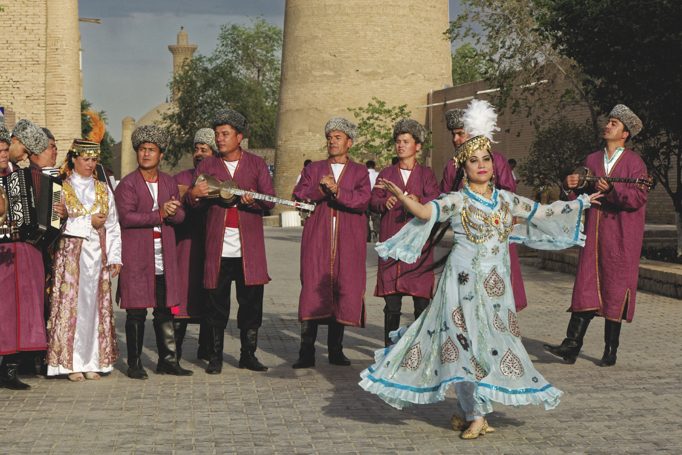 Danses traditionnelles Khiva