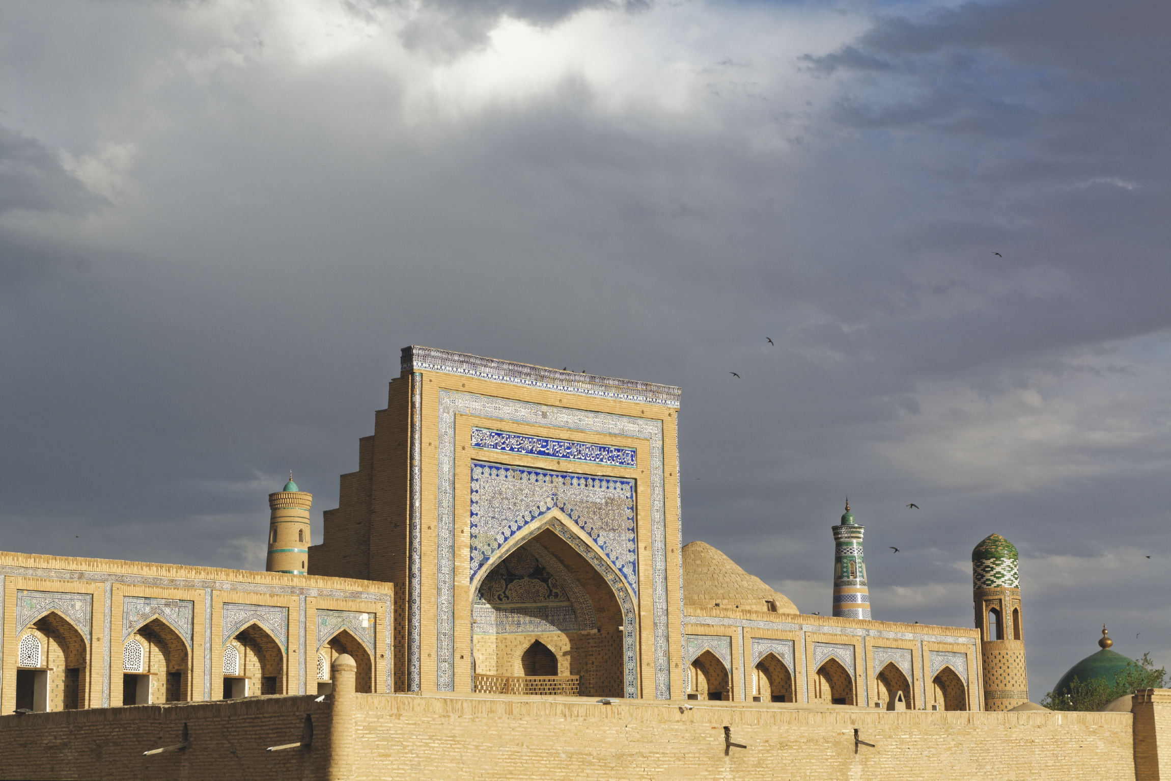 Fin de journée Khiva