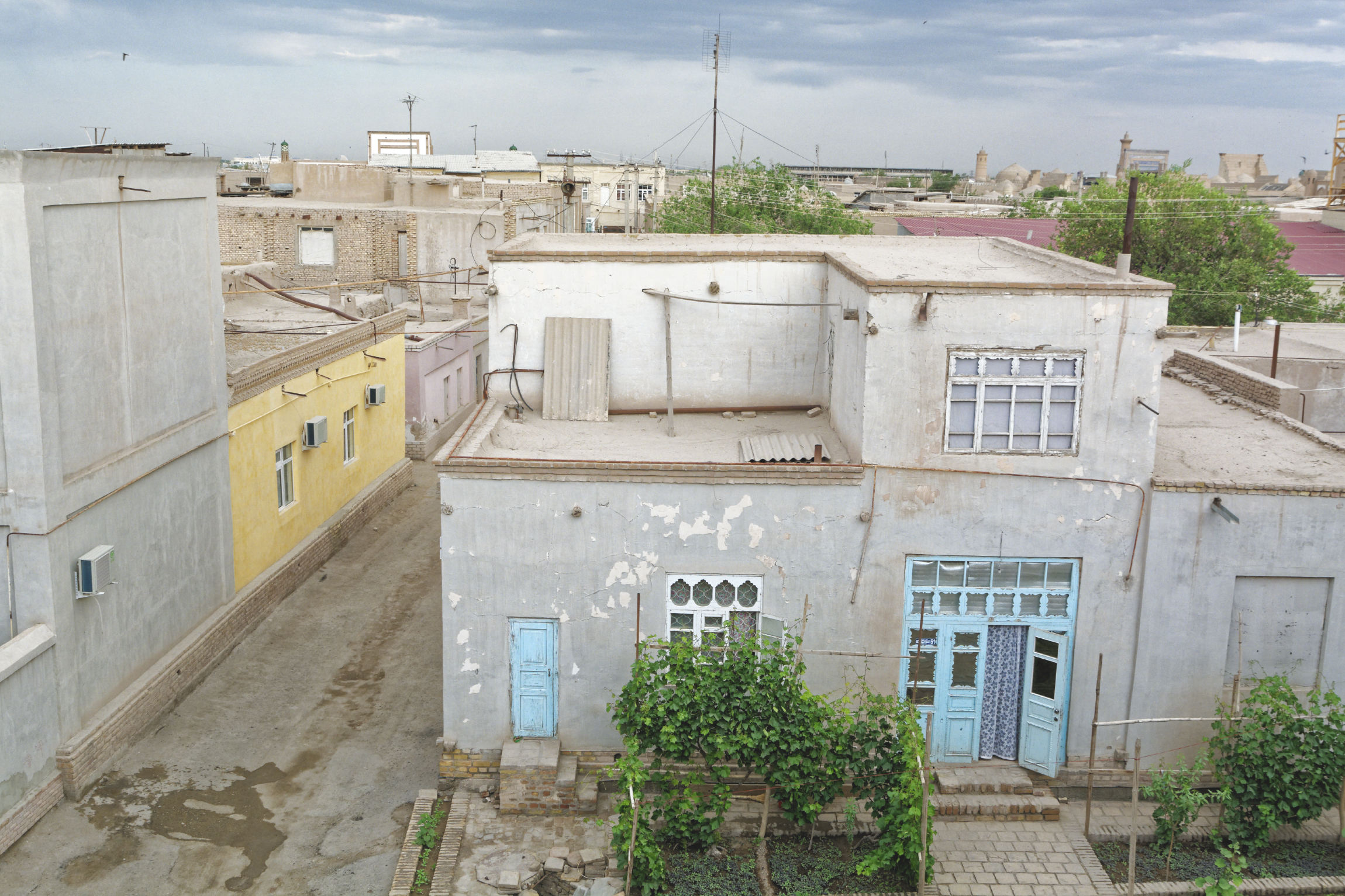 Vue sur les toits de Khiva
