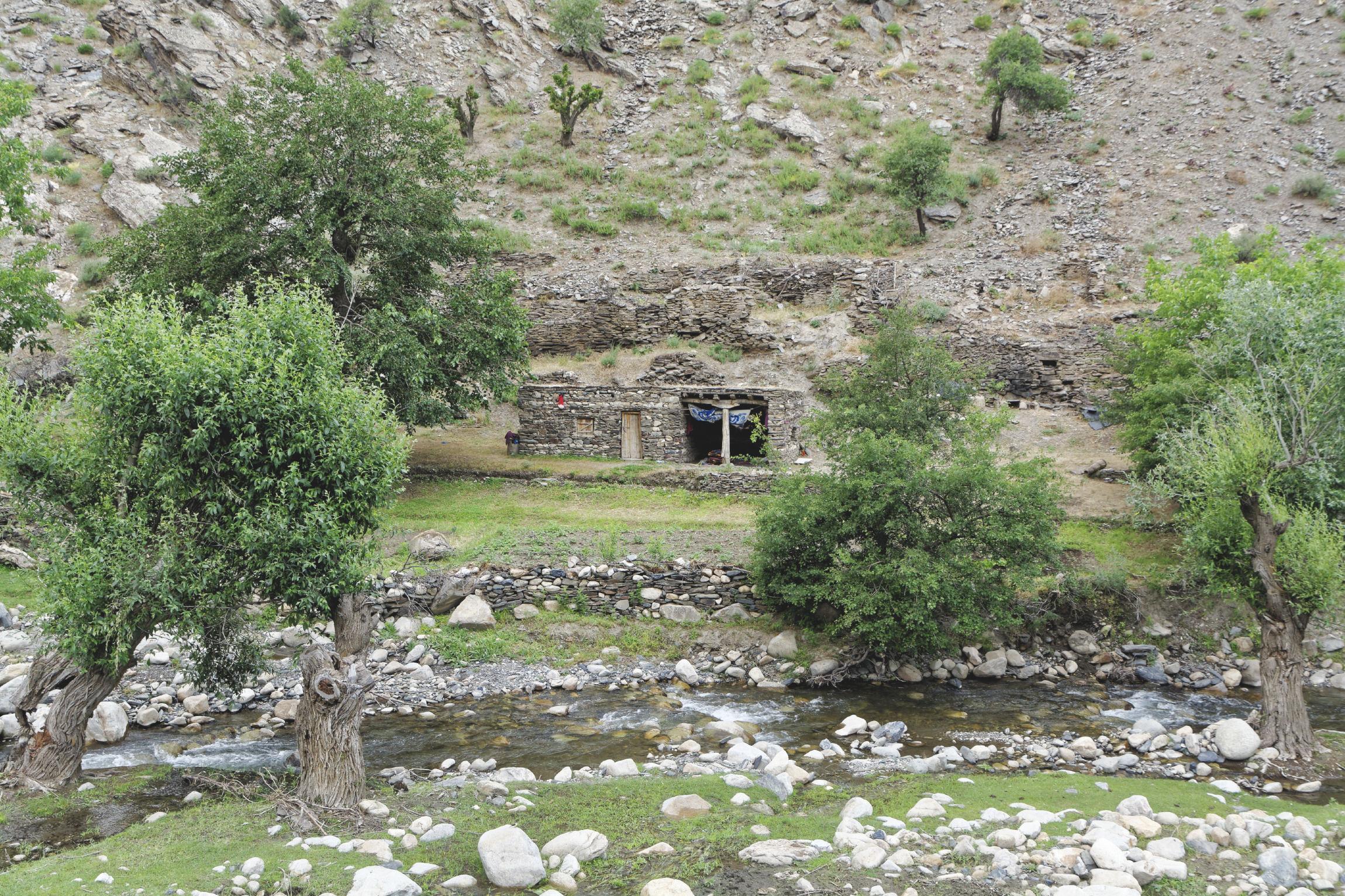 Maison en pierre Nourata