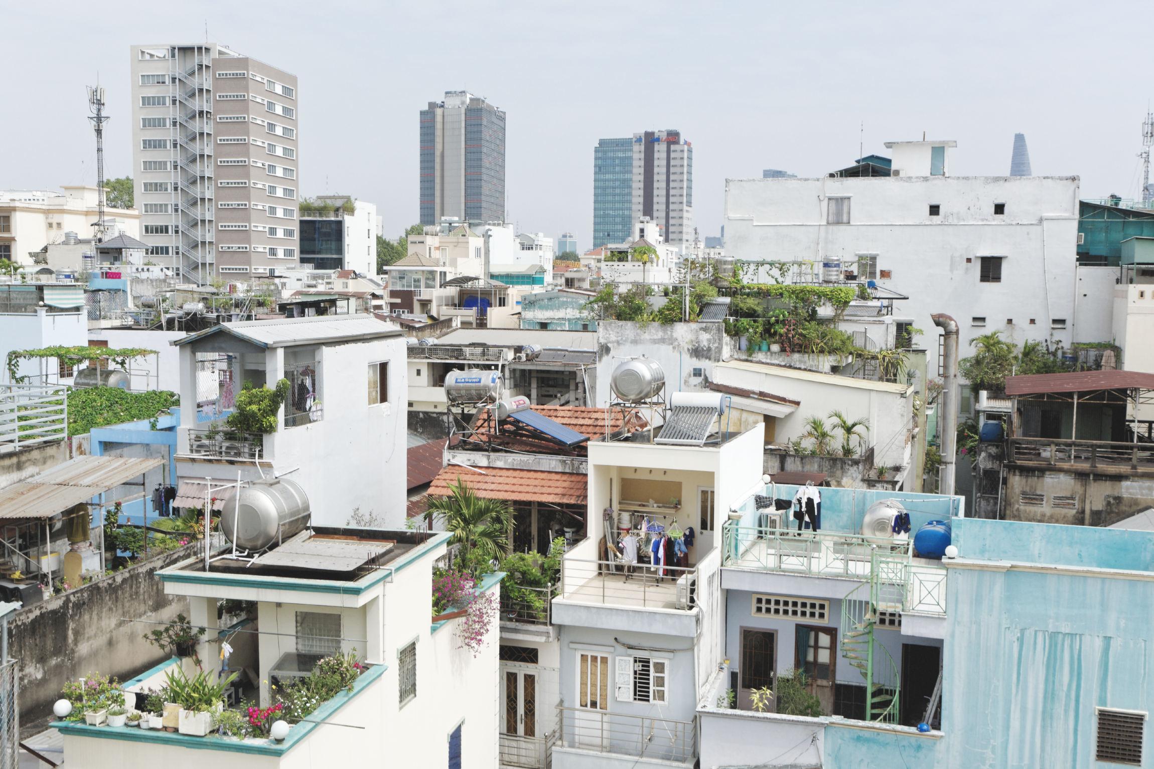 Quartier d'habitation Hô Chi Minh Ville Saigon