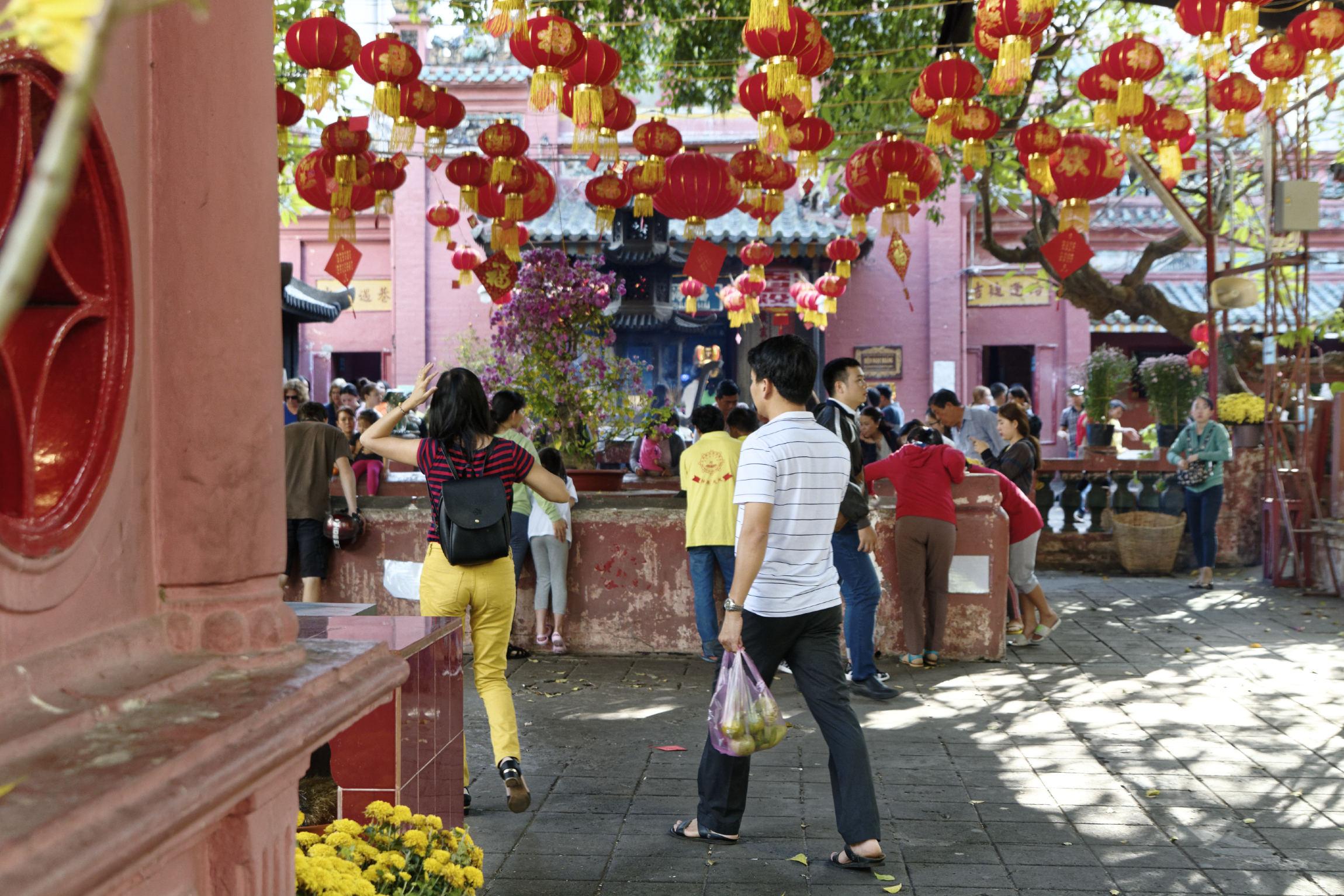 Pagode l'empereur de jade Hô Chi Minh Ville Saigon