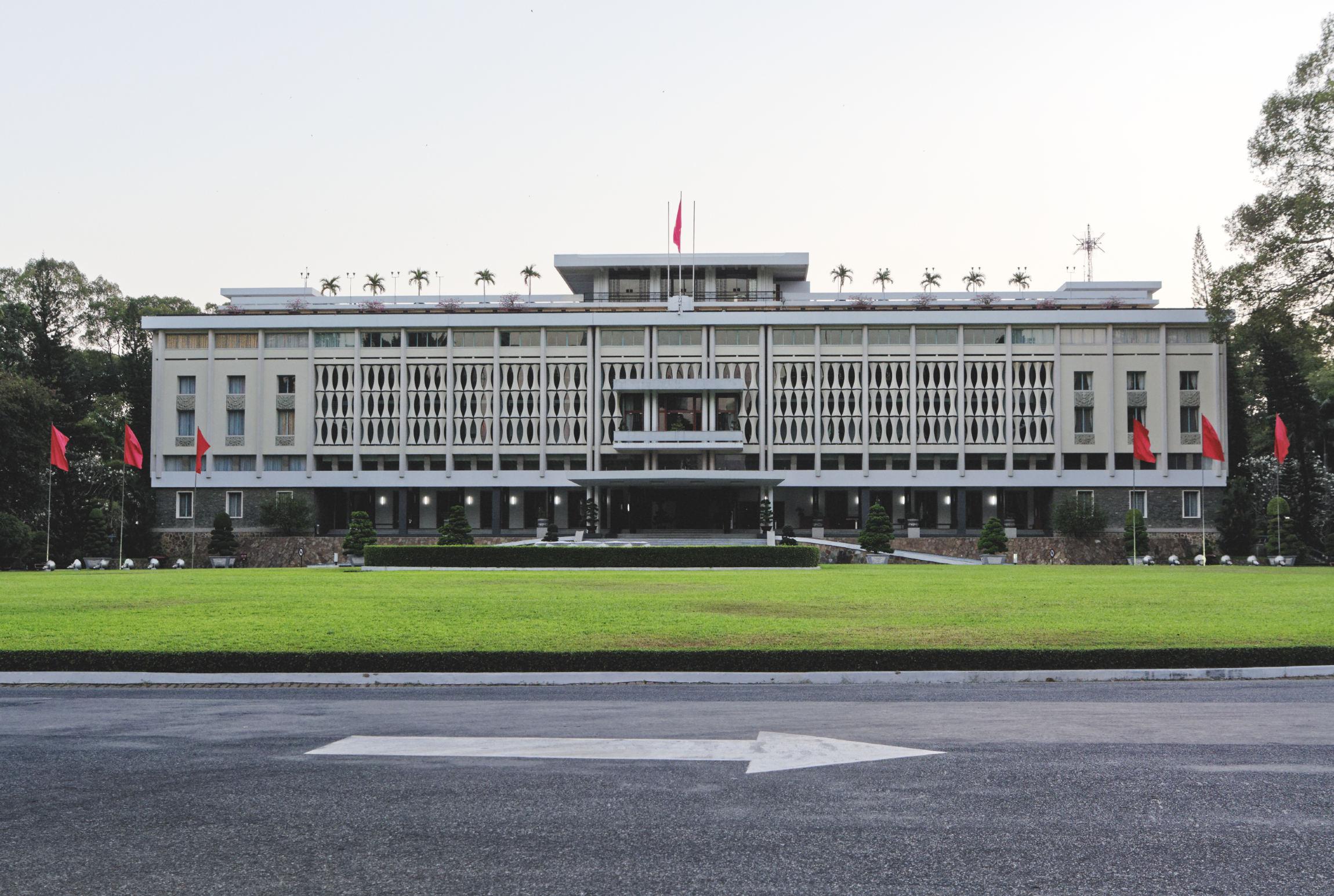Palais de la réunification Hô Chi Minh Ville Saigon