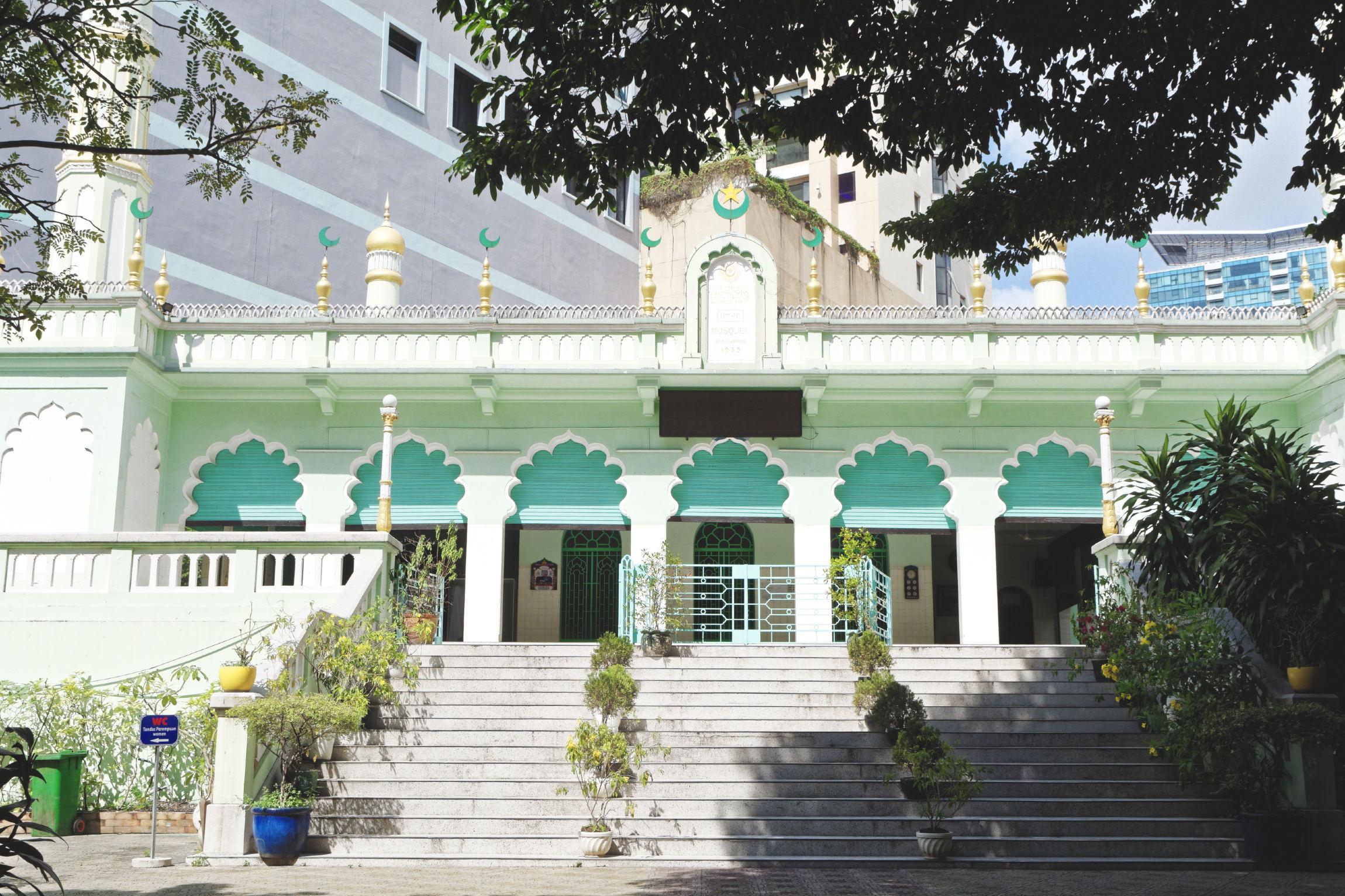 Mosquée indienne Hô Chi Minh Ville Saigon