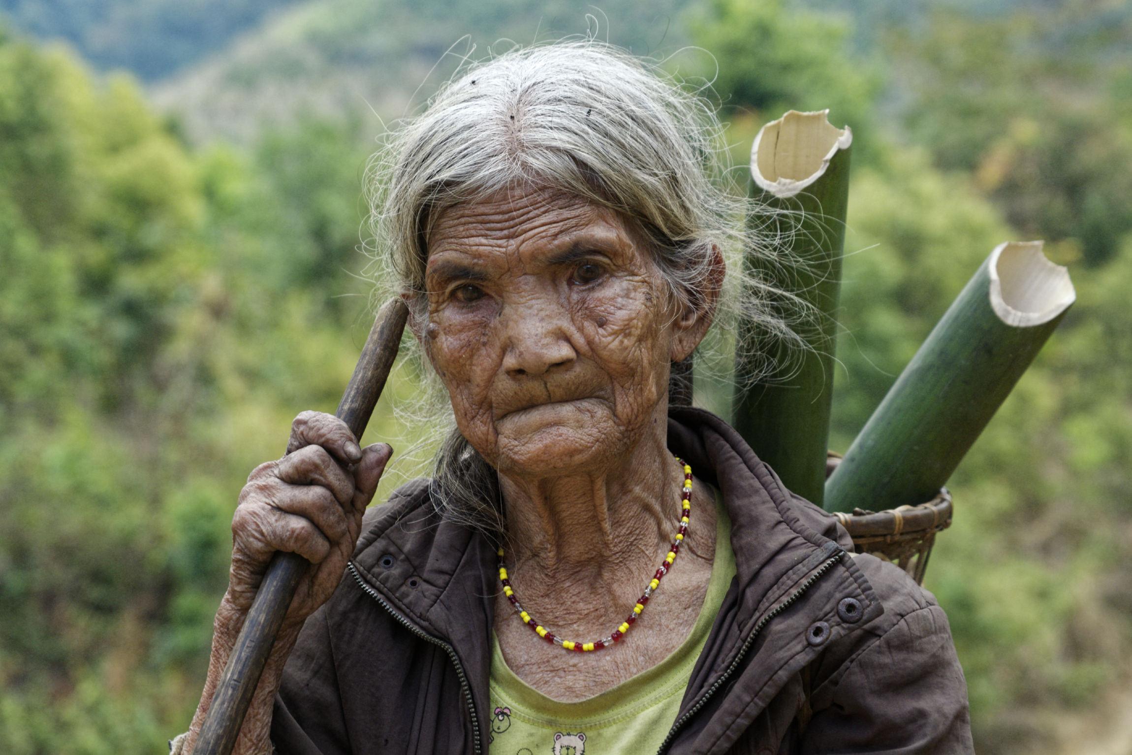 Doyenne du village de Kon Brap Yu Kontum