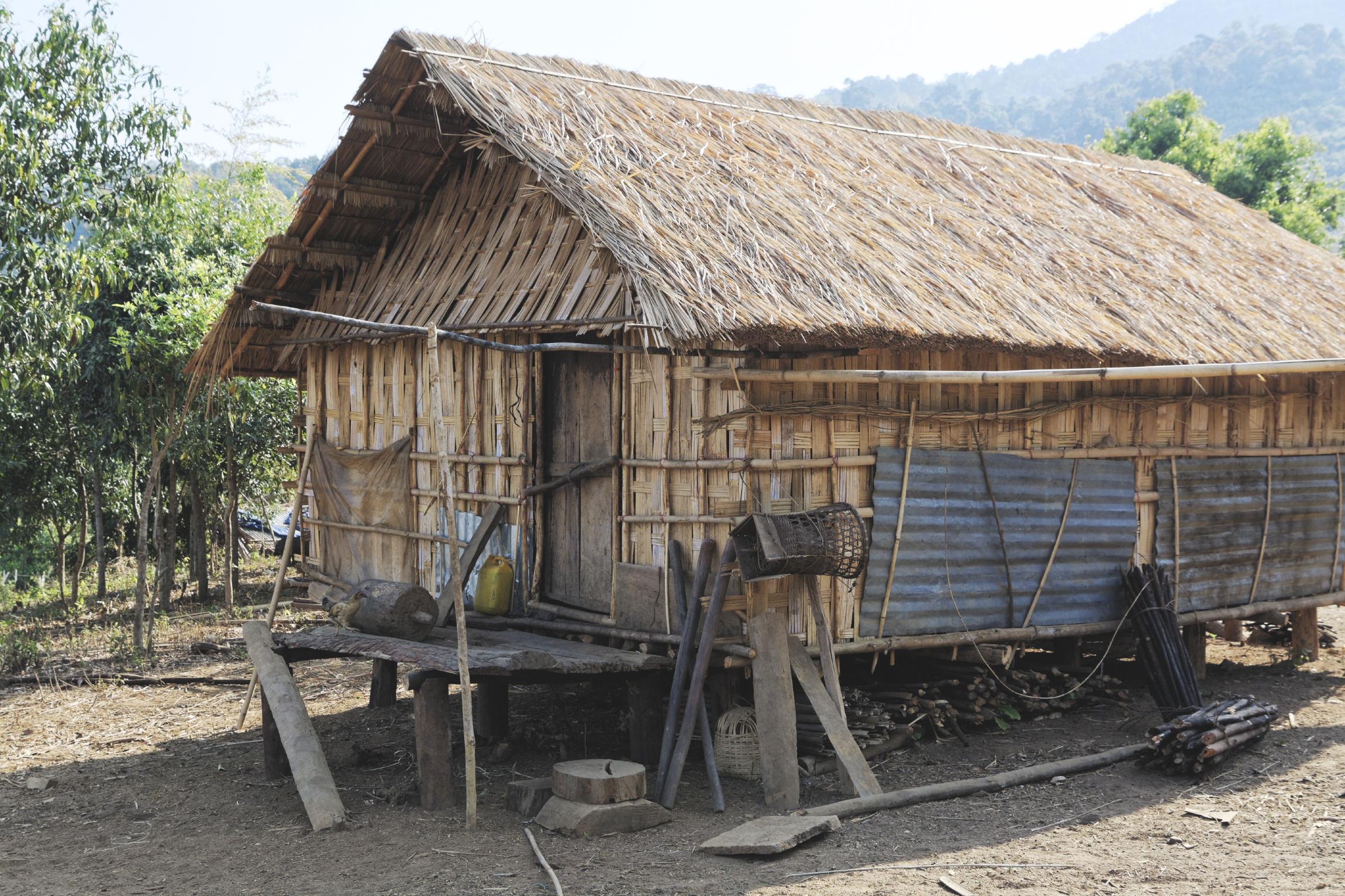 Maison en bambou Kon Knoh