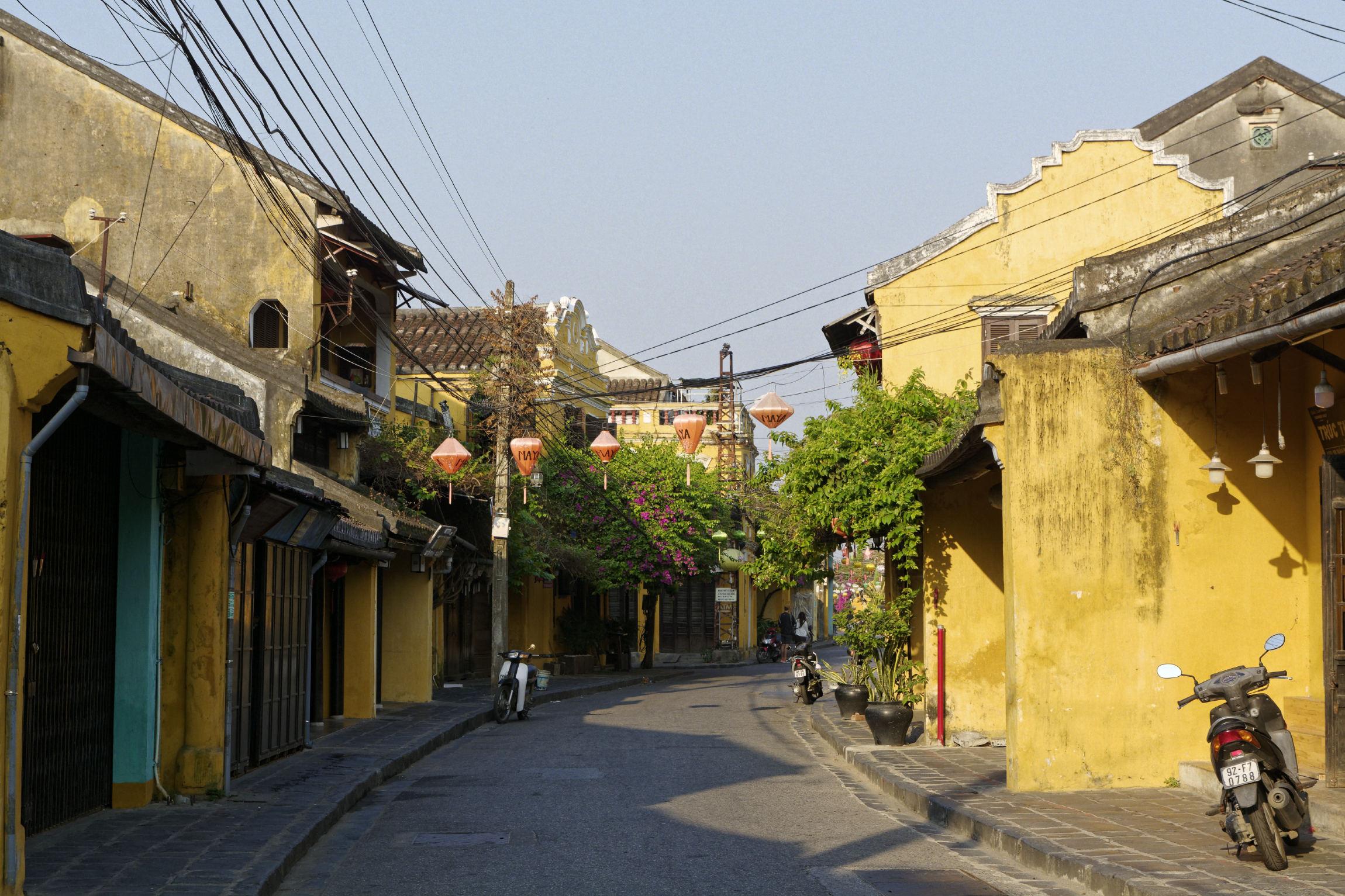 Rue d'Hoi An au matin
