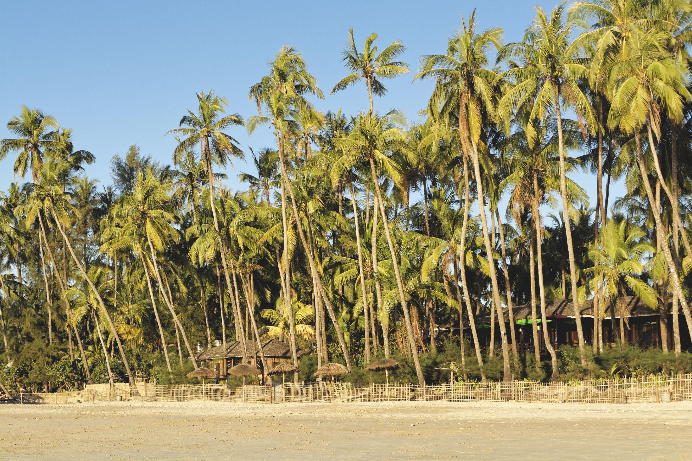 Ngapali plage