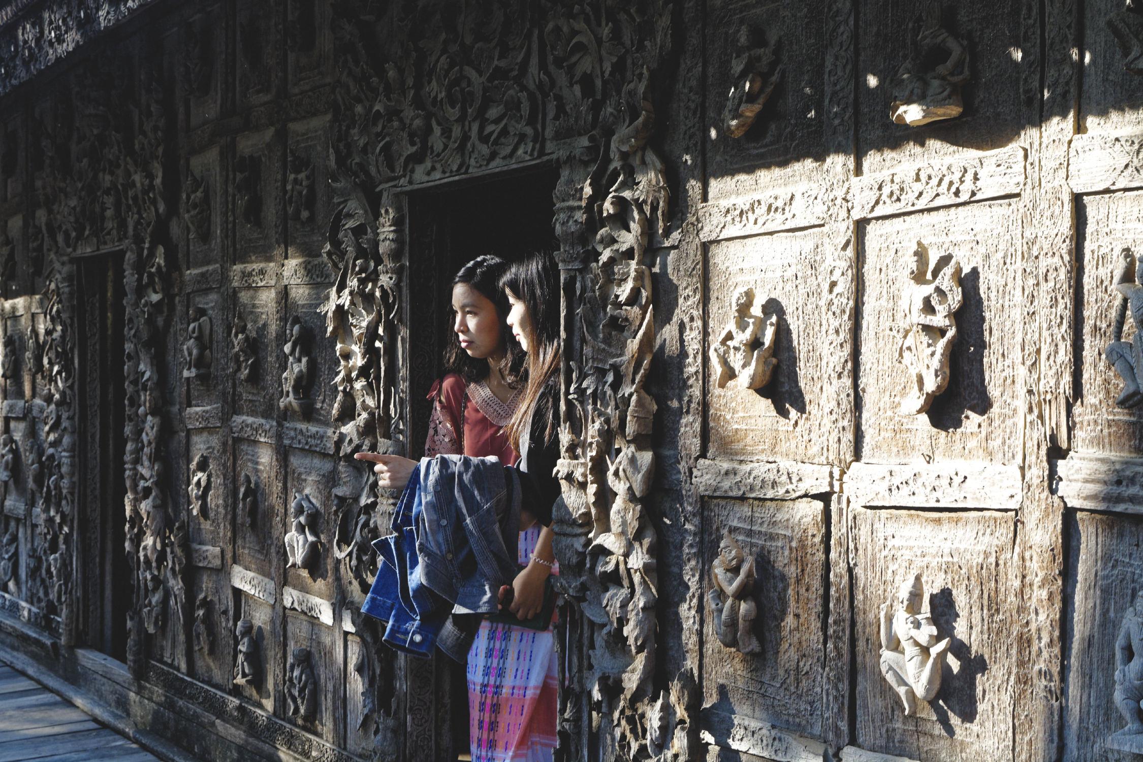 Monastère Shwe In Bin Mandalay