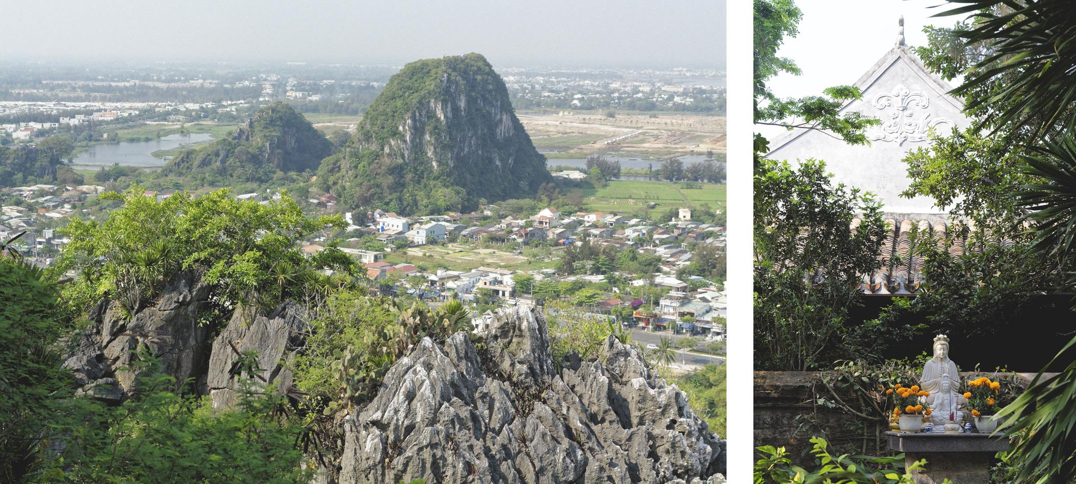 Marble mountains Danang