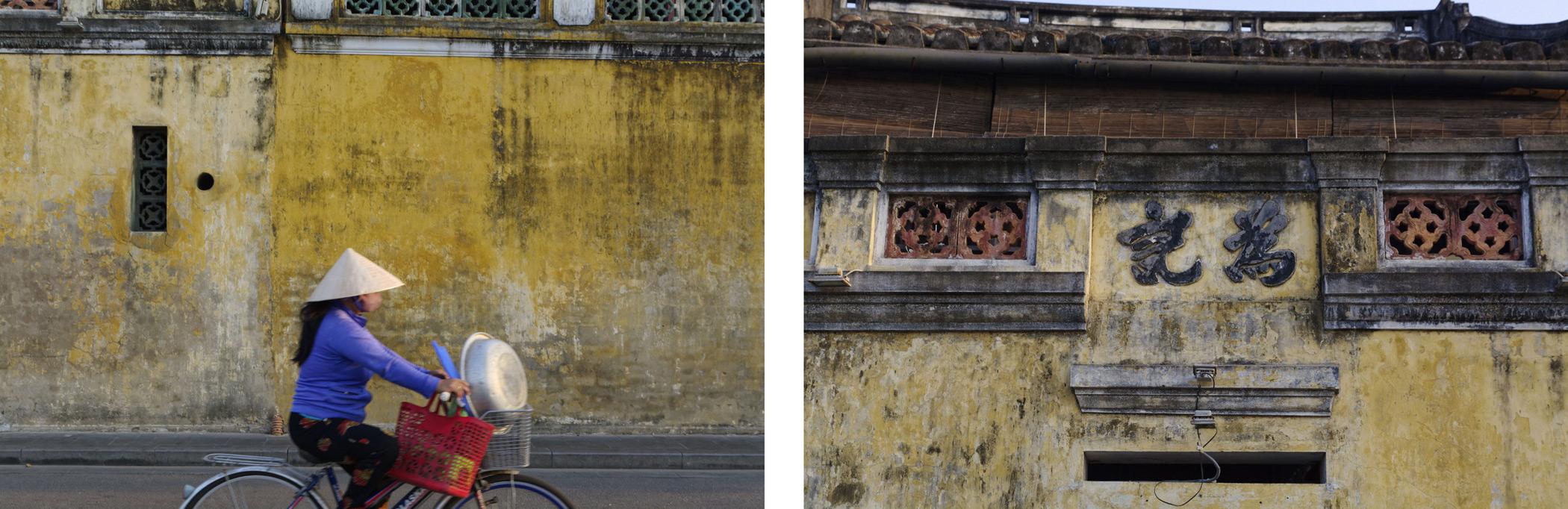 Murs jaunes Hoi An