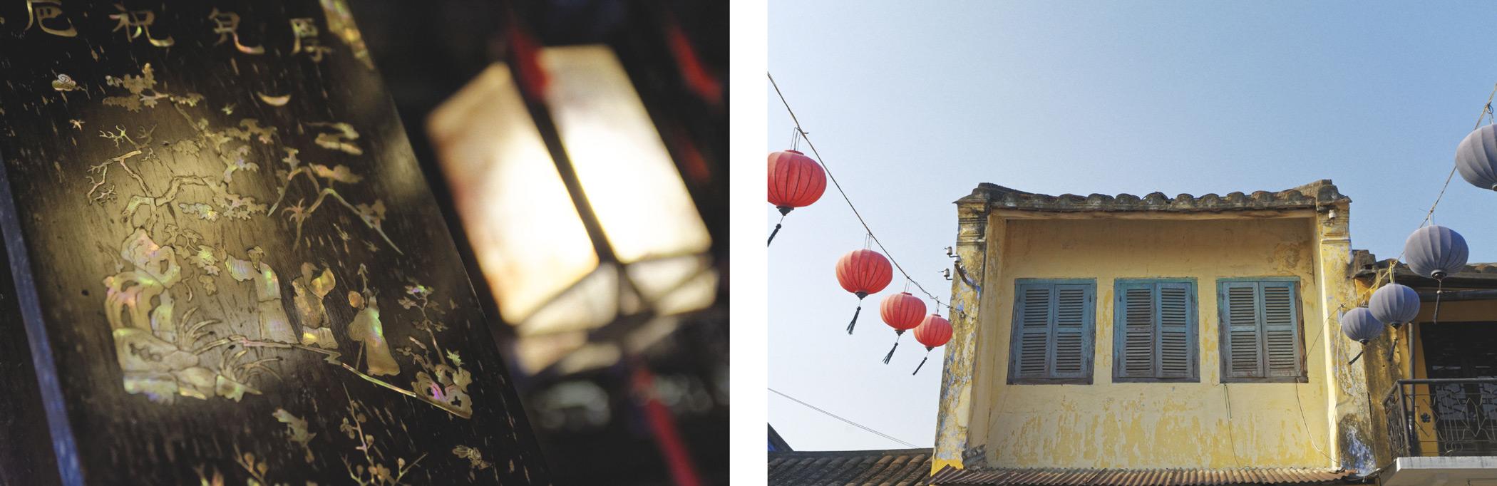 Lanterne et lampions Hoi An