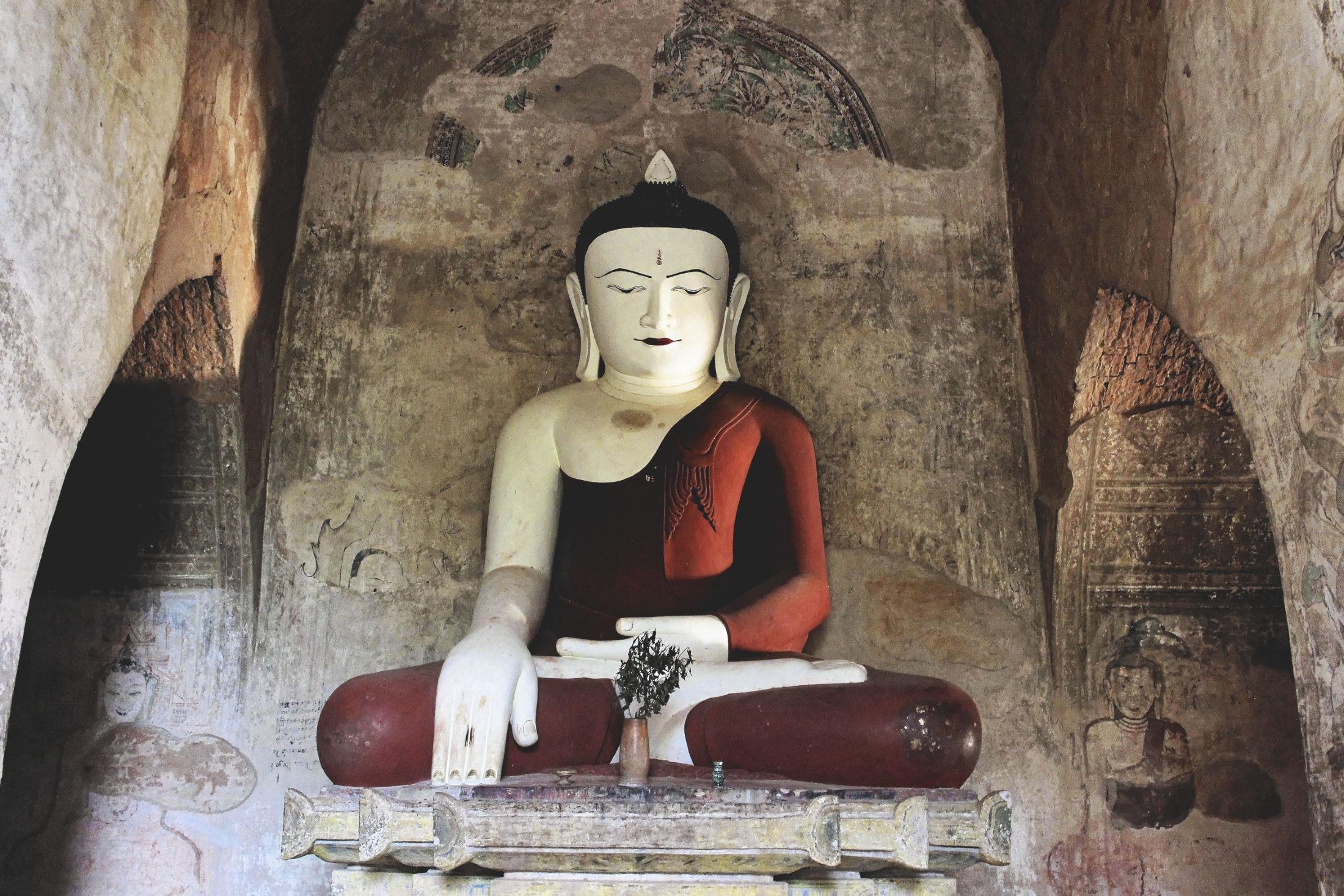 Sculpture Bouddha Bagan