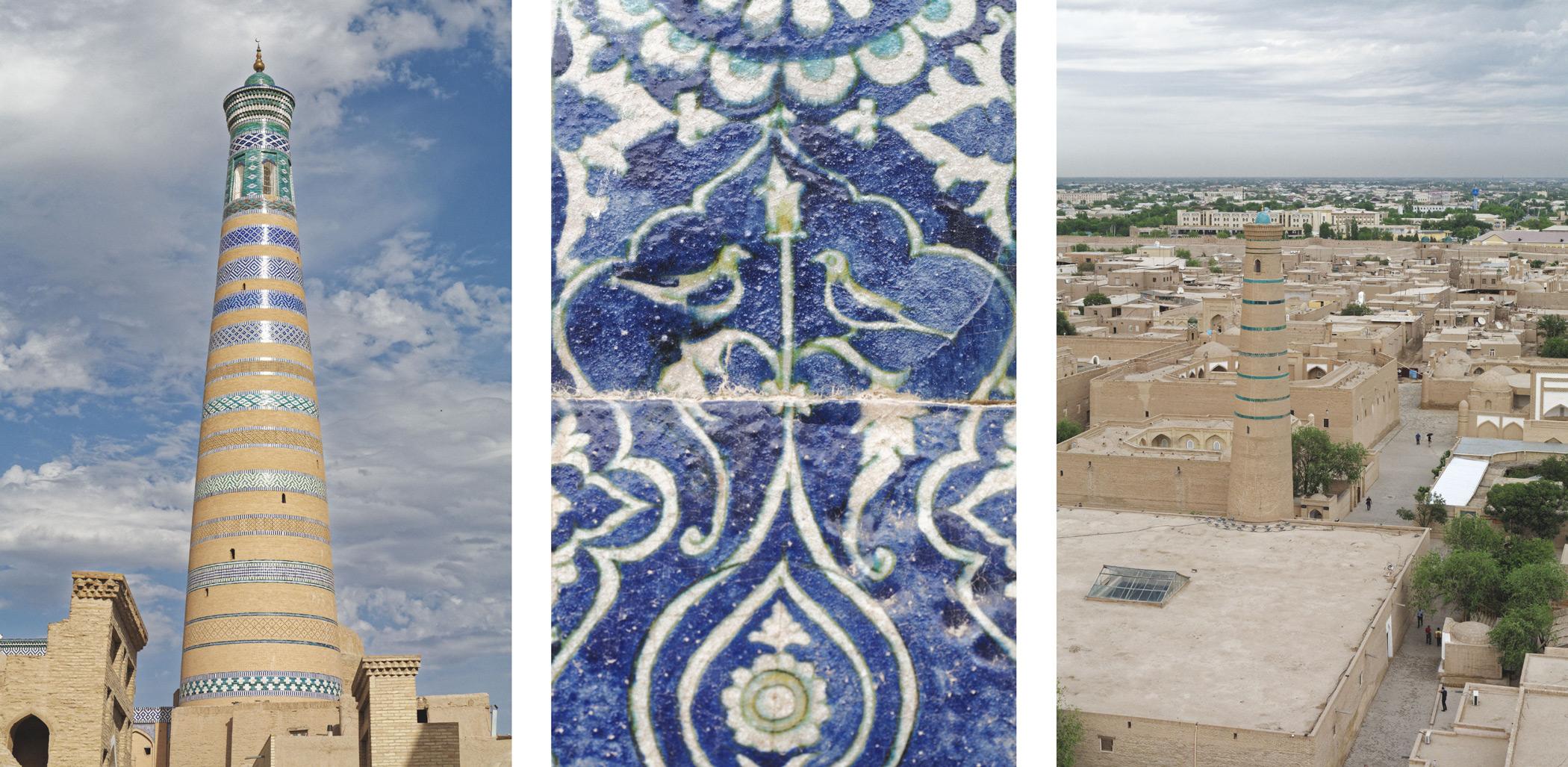 Minarets et majolique