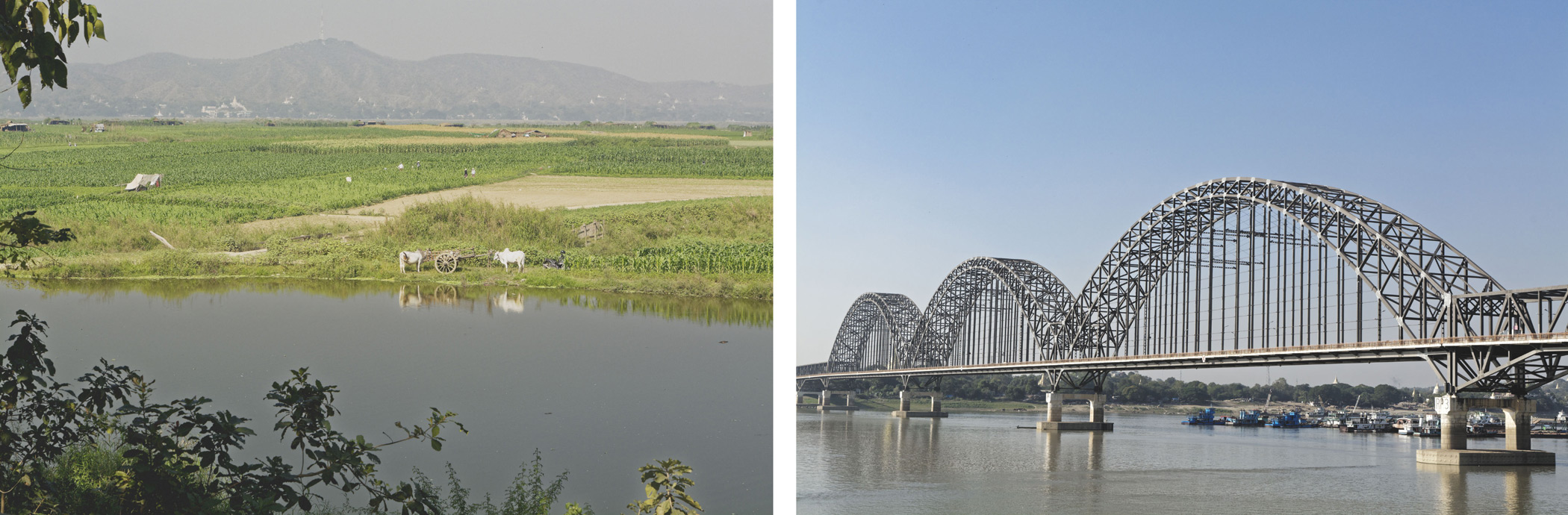 Campagne autour de Mandalay