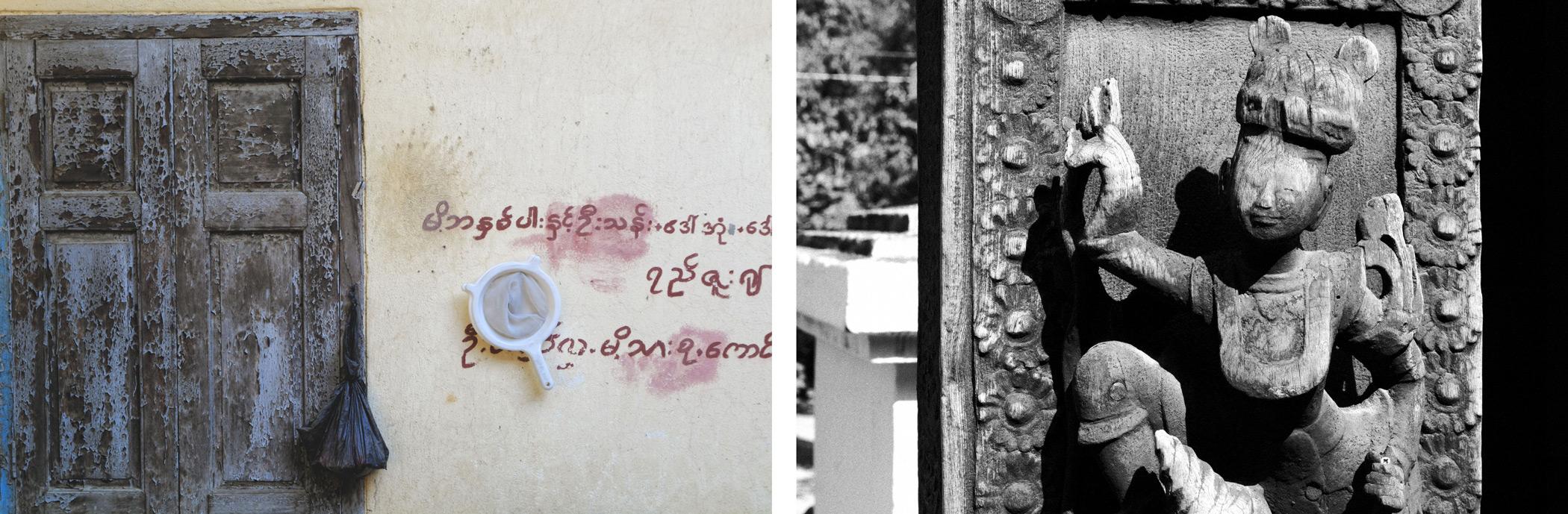 Monastère Shwenandaw Mandalay