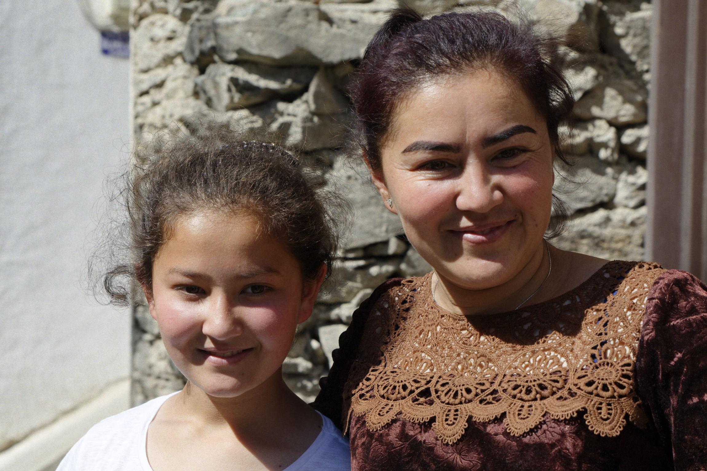 Famille tadjike