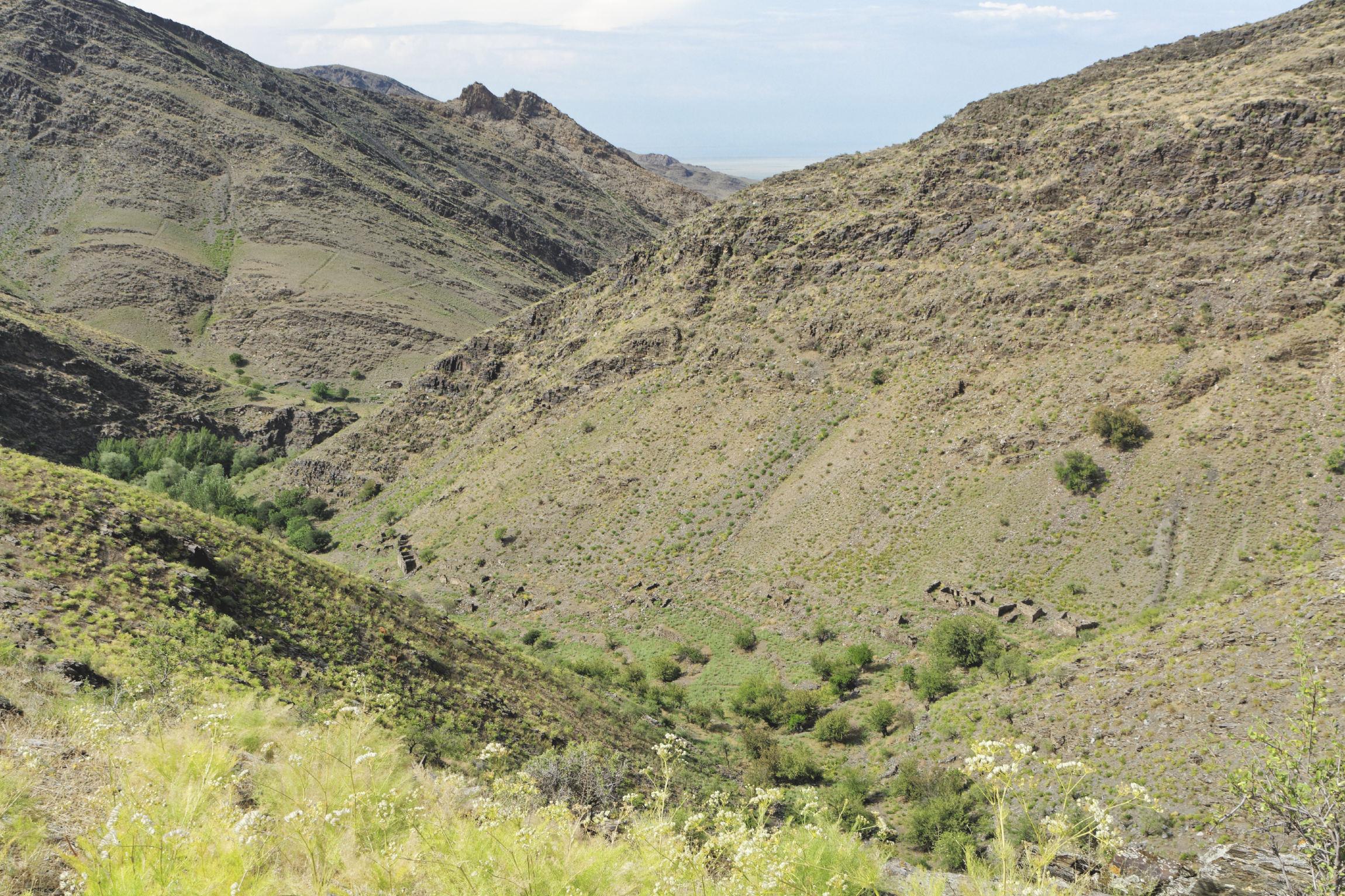 Monts Nourata villages abandonnés