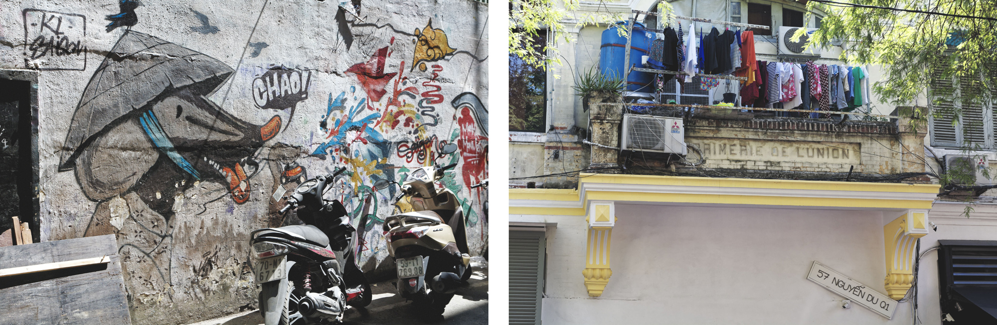 Street art Hô Chi Minh Ville Saigon