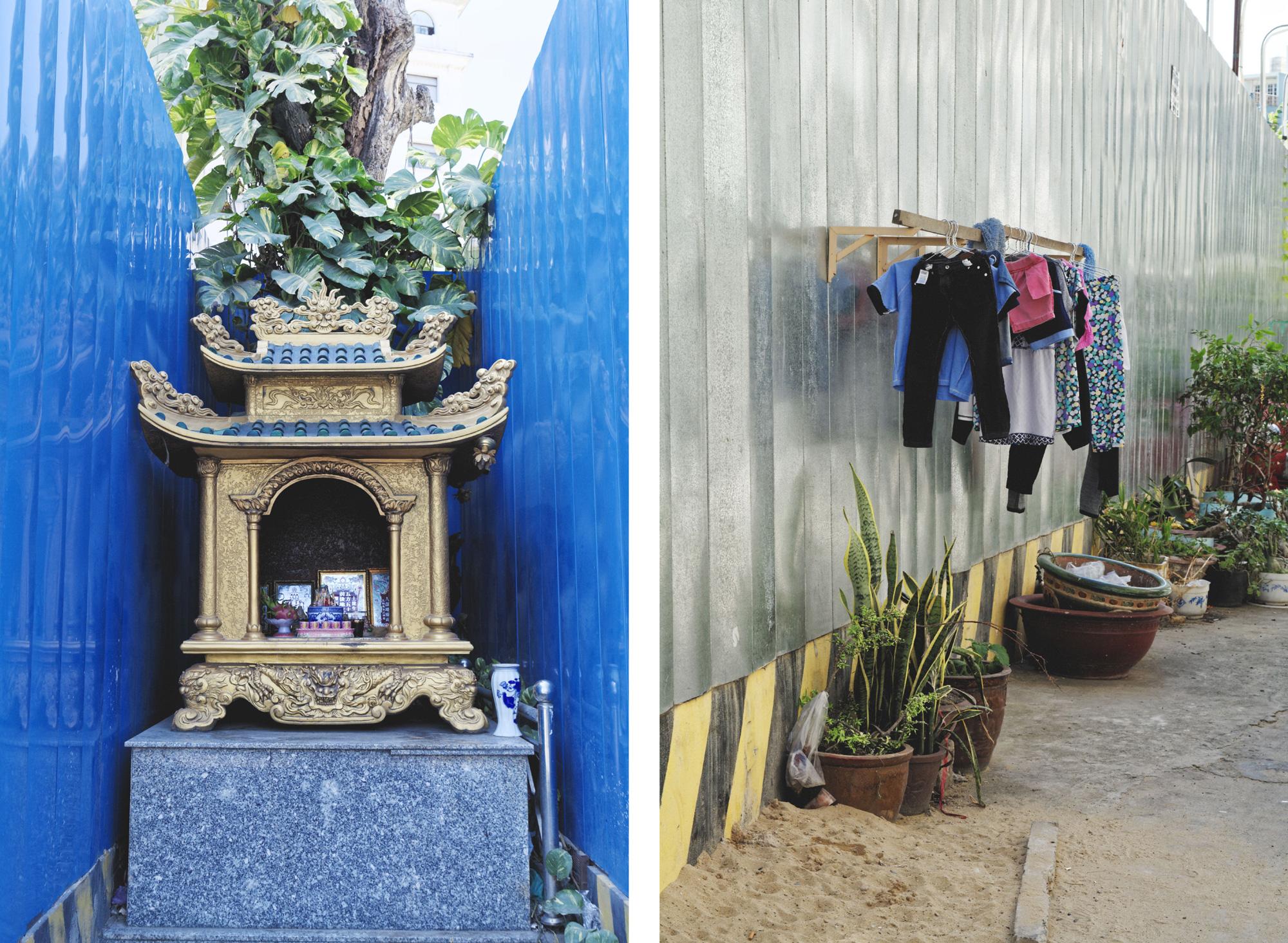 Au milieu des travaux Hô Chi Minh Ville Saigon