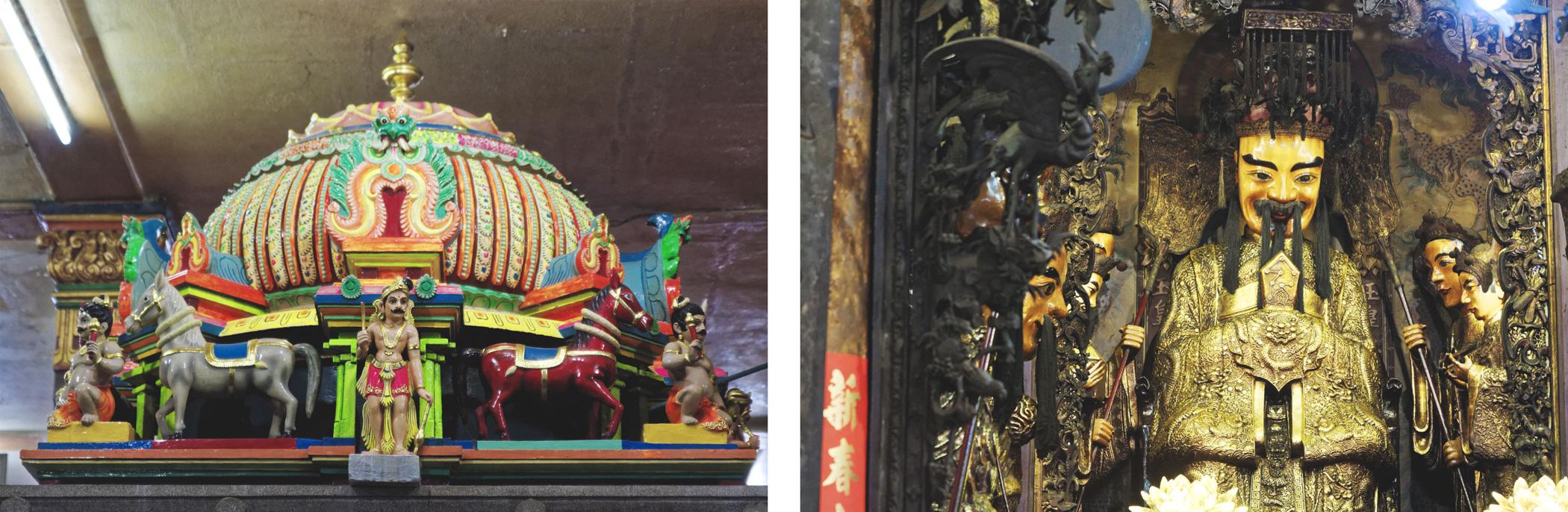Temple hindou et pagode taoïste Hô Chi Minh Ville Saigon