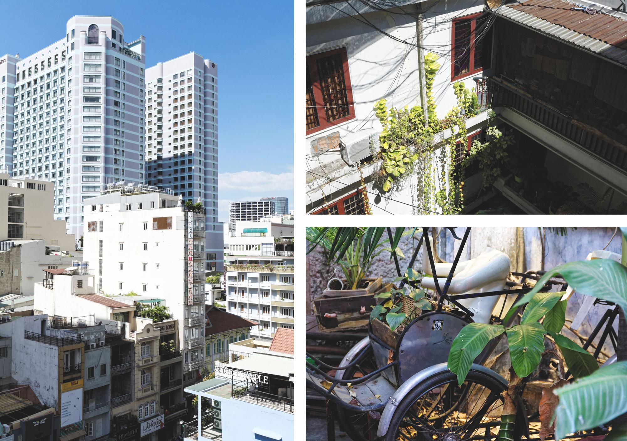 Détails urbains Hô Chi Minh Ville Saigon
