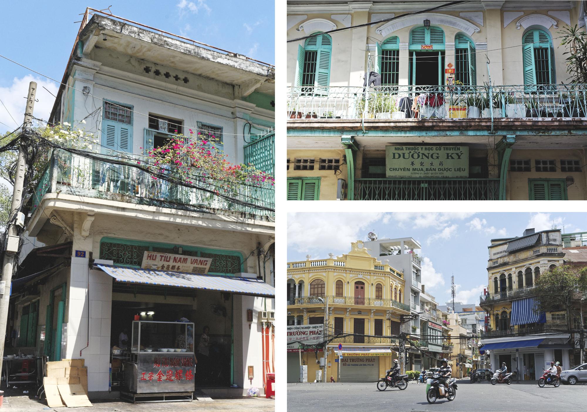 Rues de Cholon Hô Chi Minh Ville