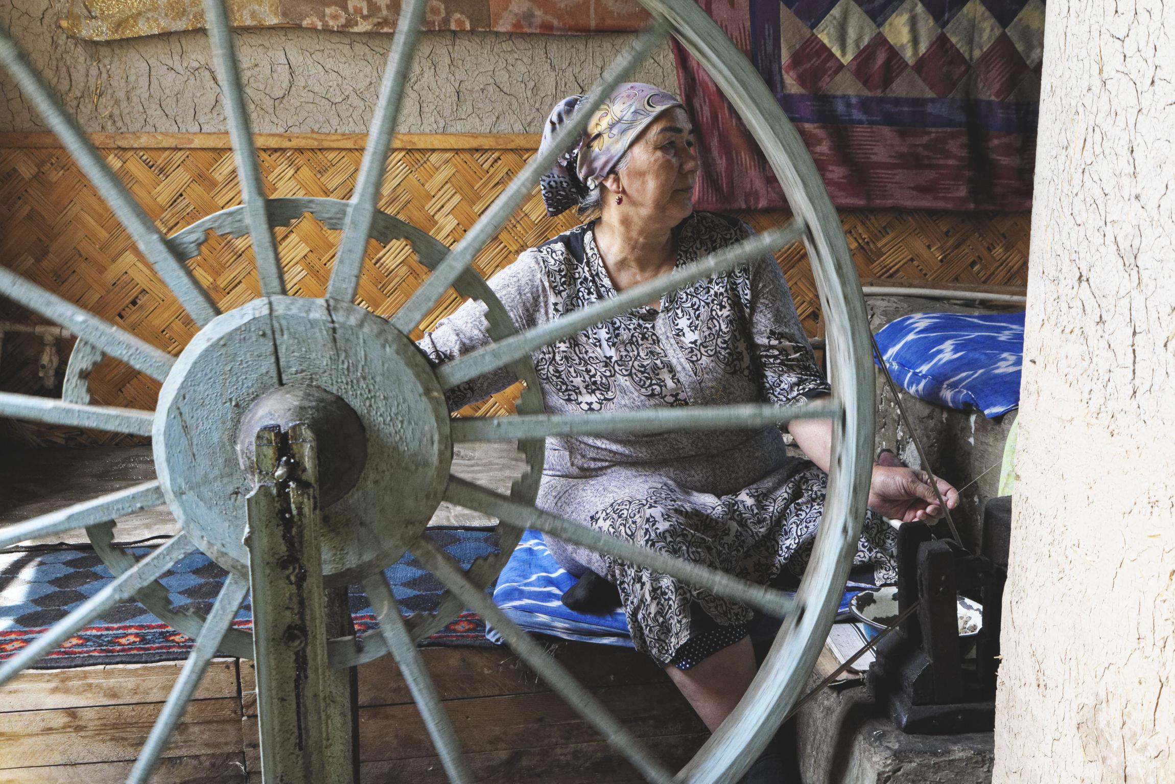 Ferghana, côté ouzbek