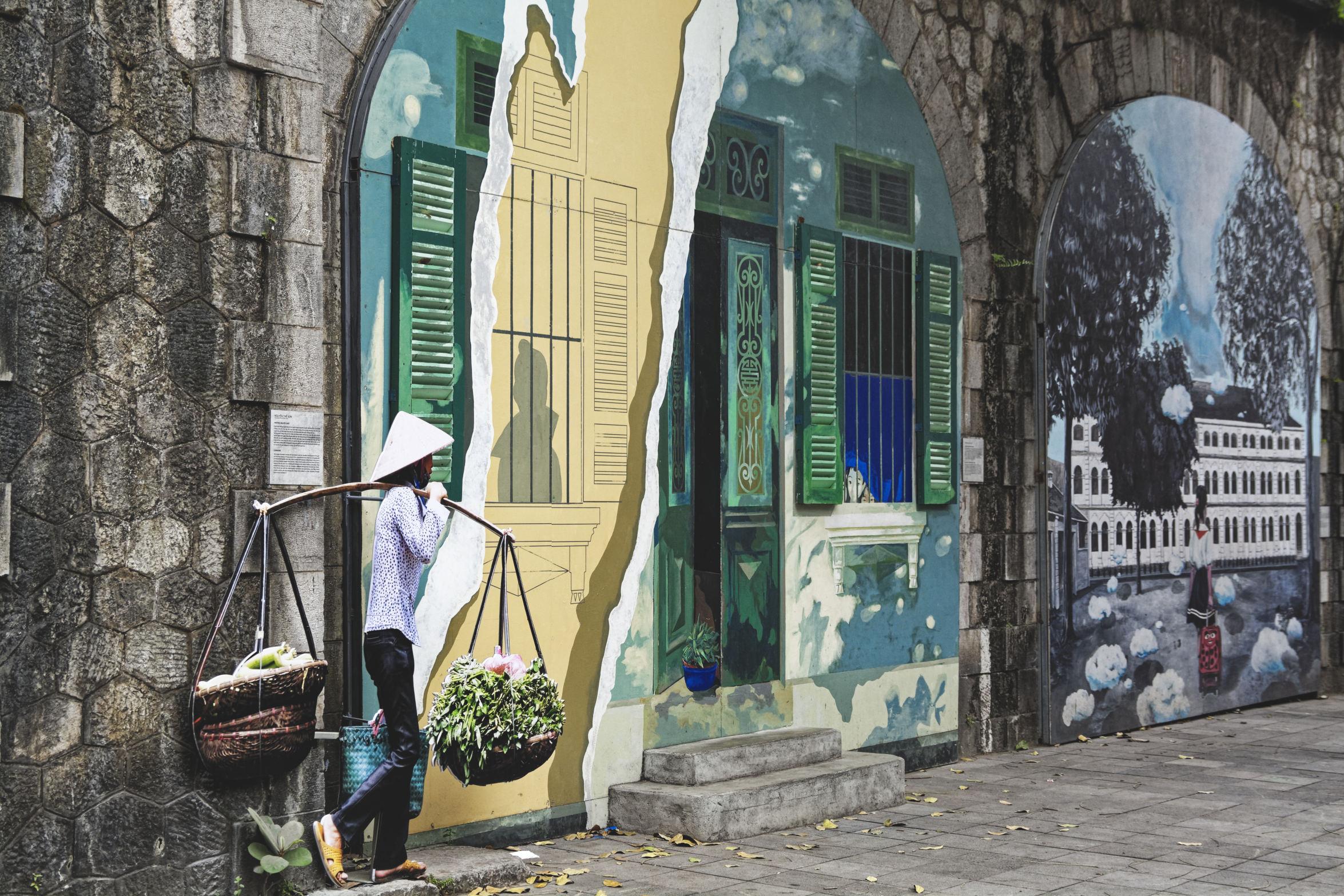 Street art Hanoi