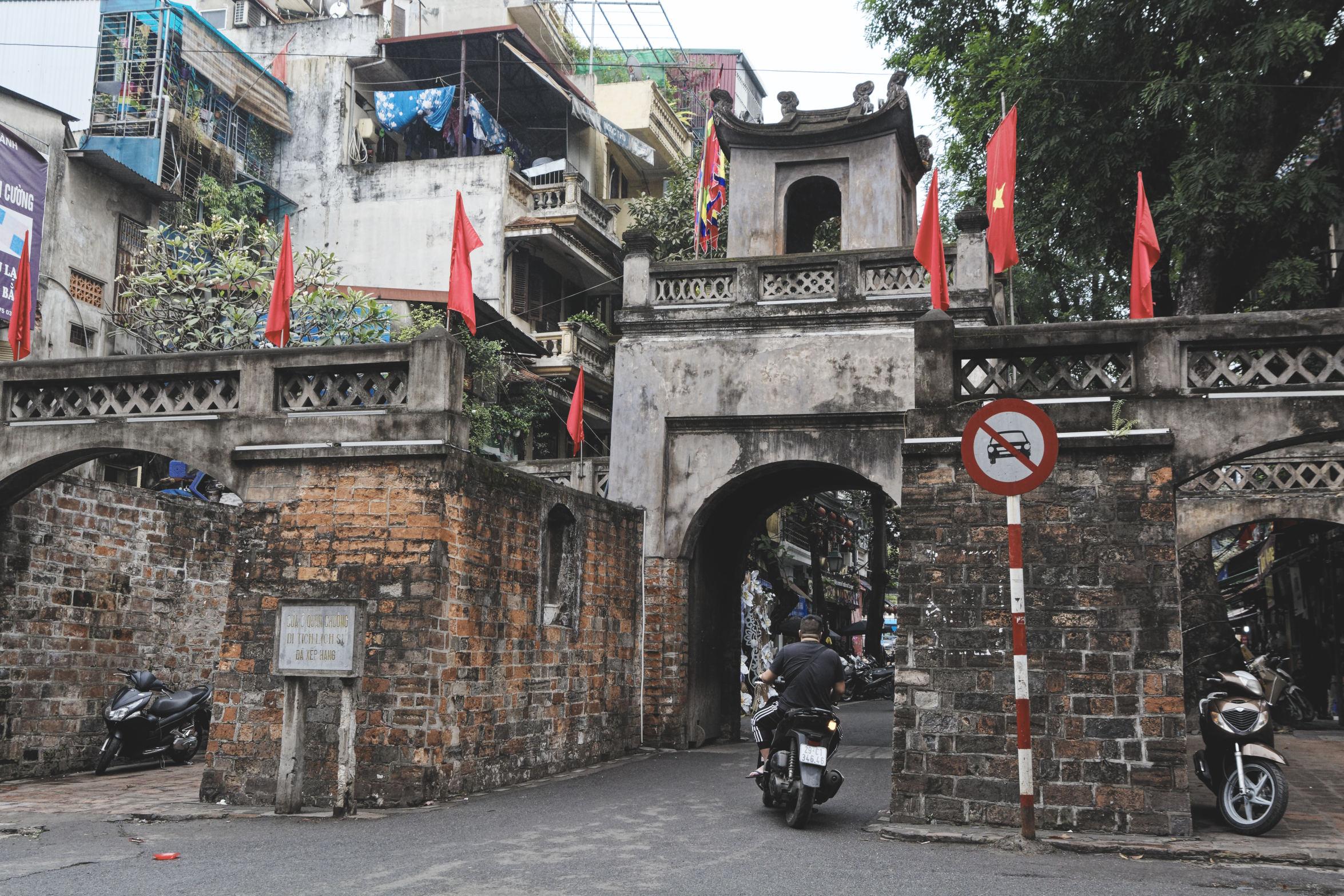 Old gate Hanoi
