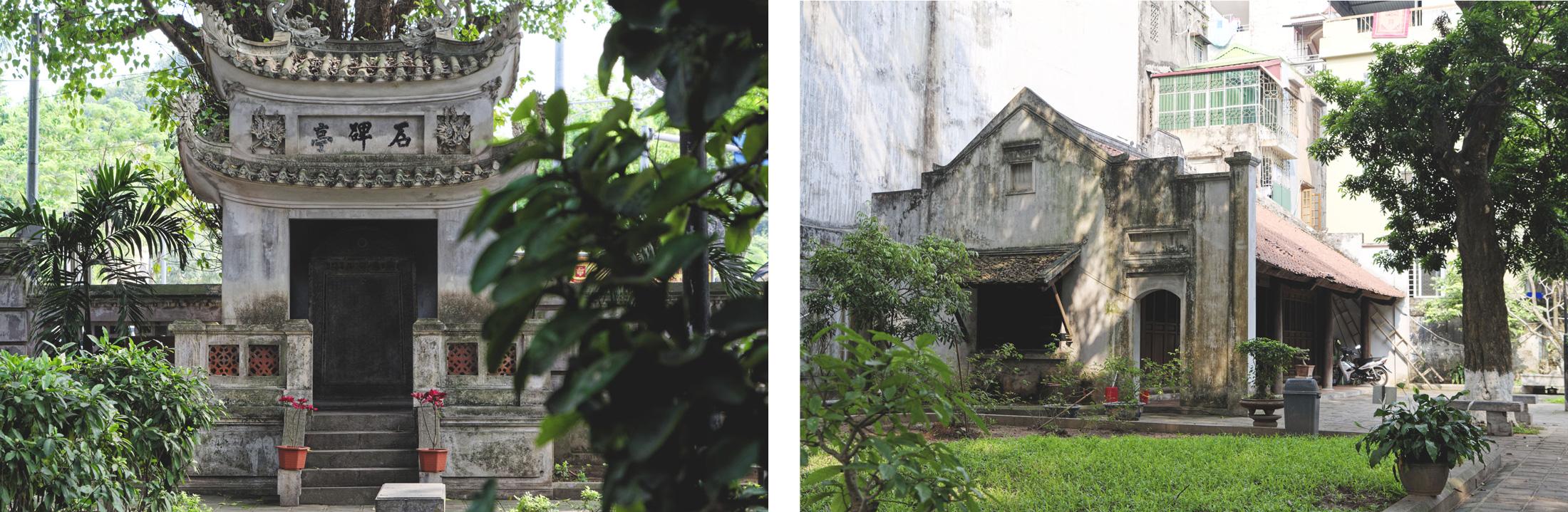 Truch Bach Hanoi temple