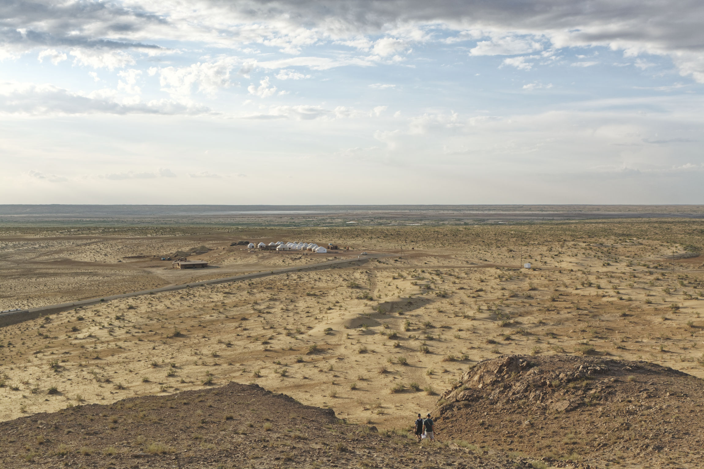 Ayaz Kala désert