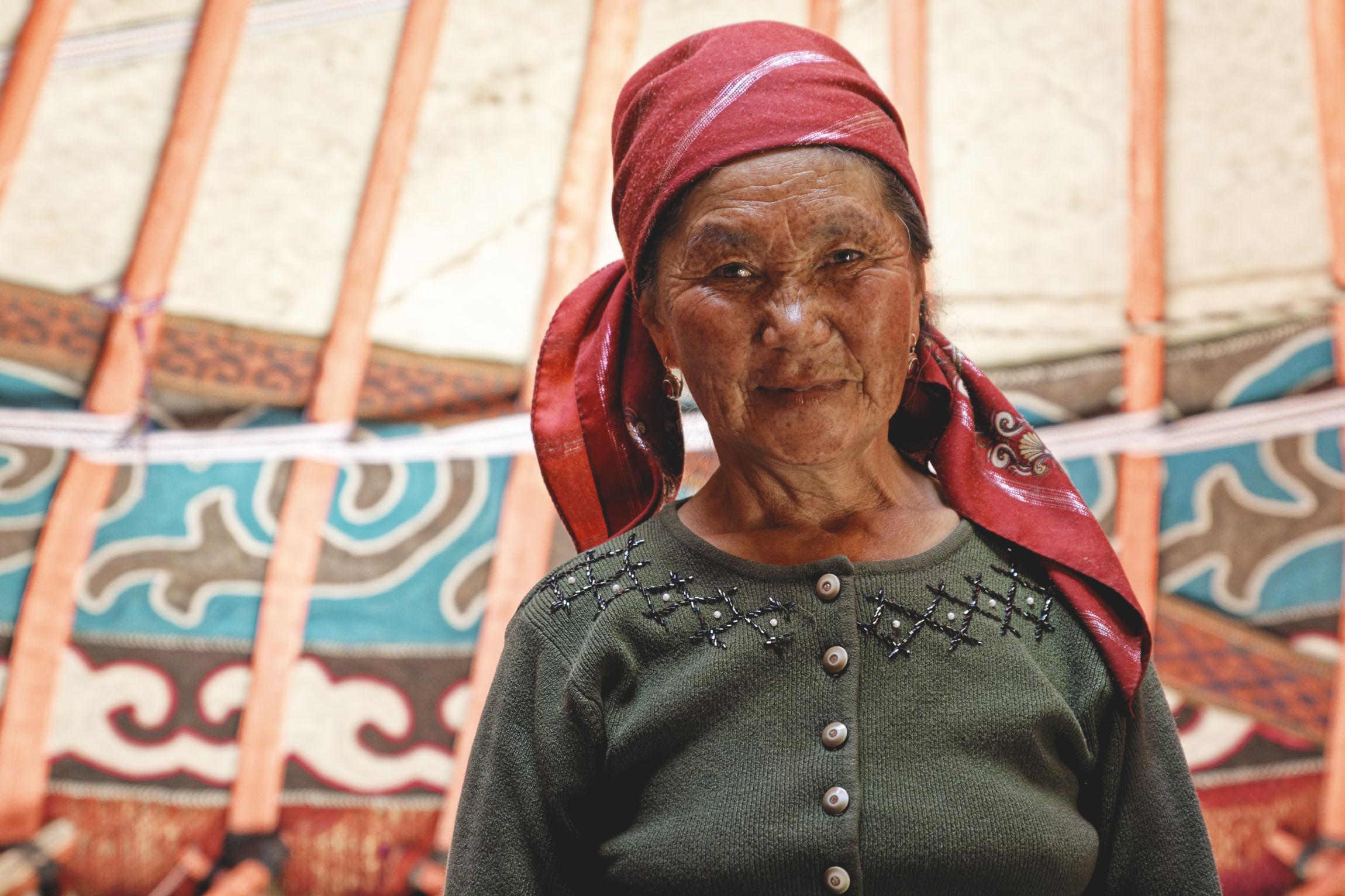 Samira Bosogo Kirghizstan