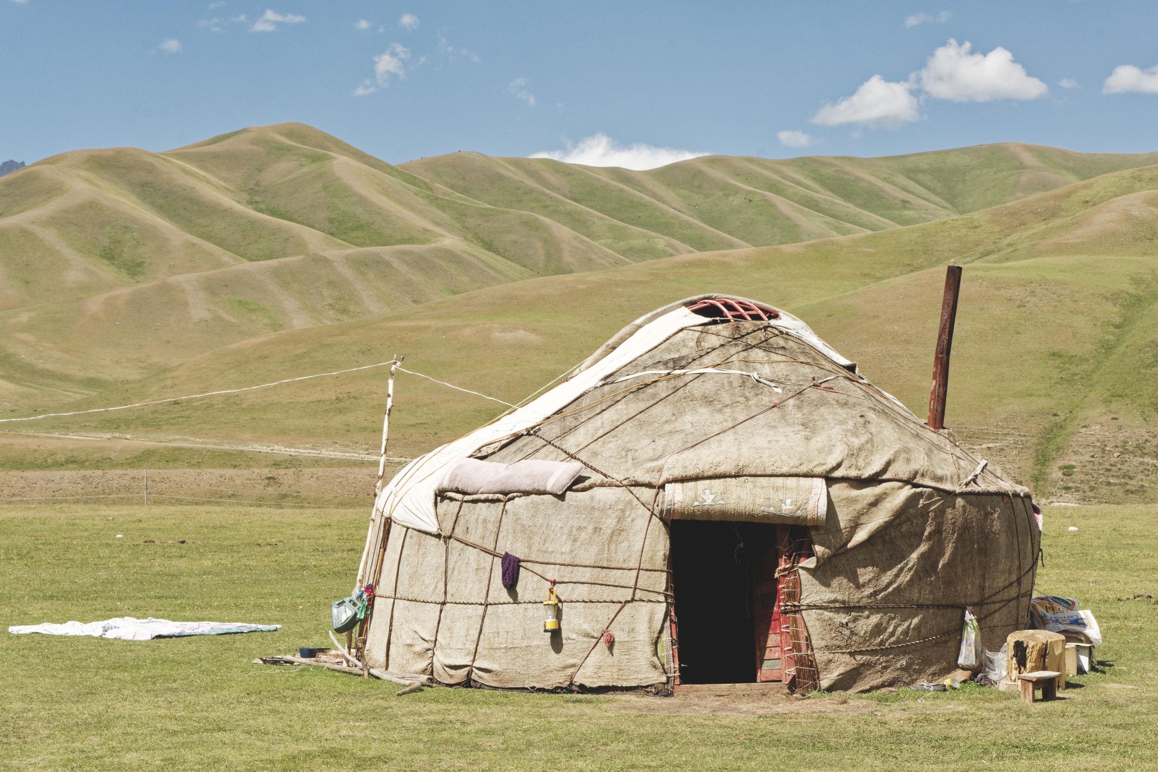 Yourte Bosogo jailoo Kirghizstan