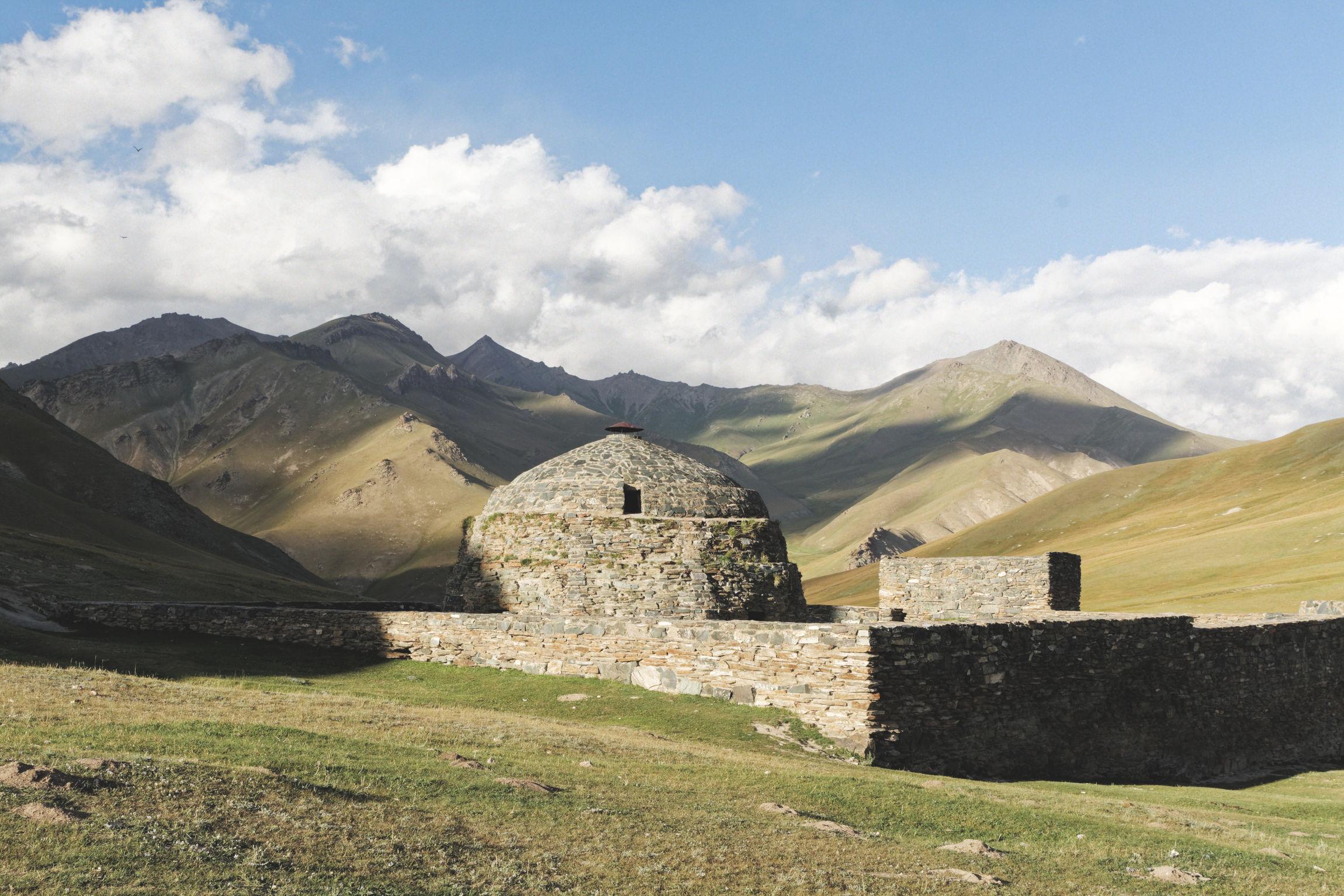 Caravansérail de Tash Rabat Kirghizstan