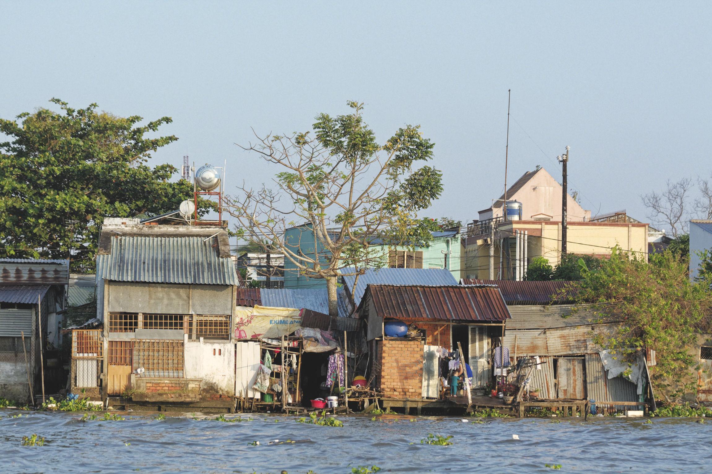 Habitations Delta du Mékong