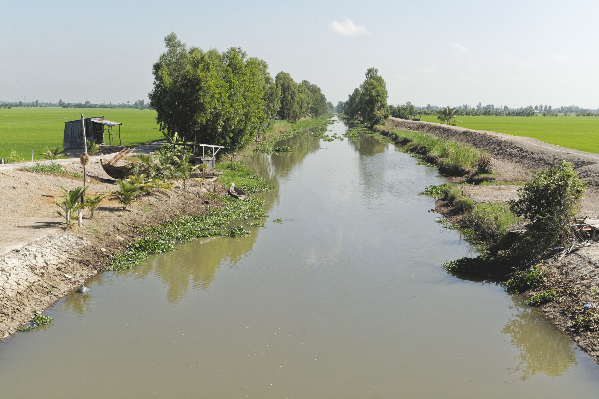 Delta du Mékong canal Chau Doc