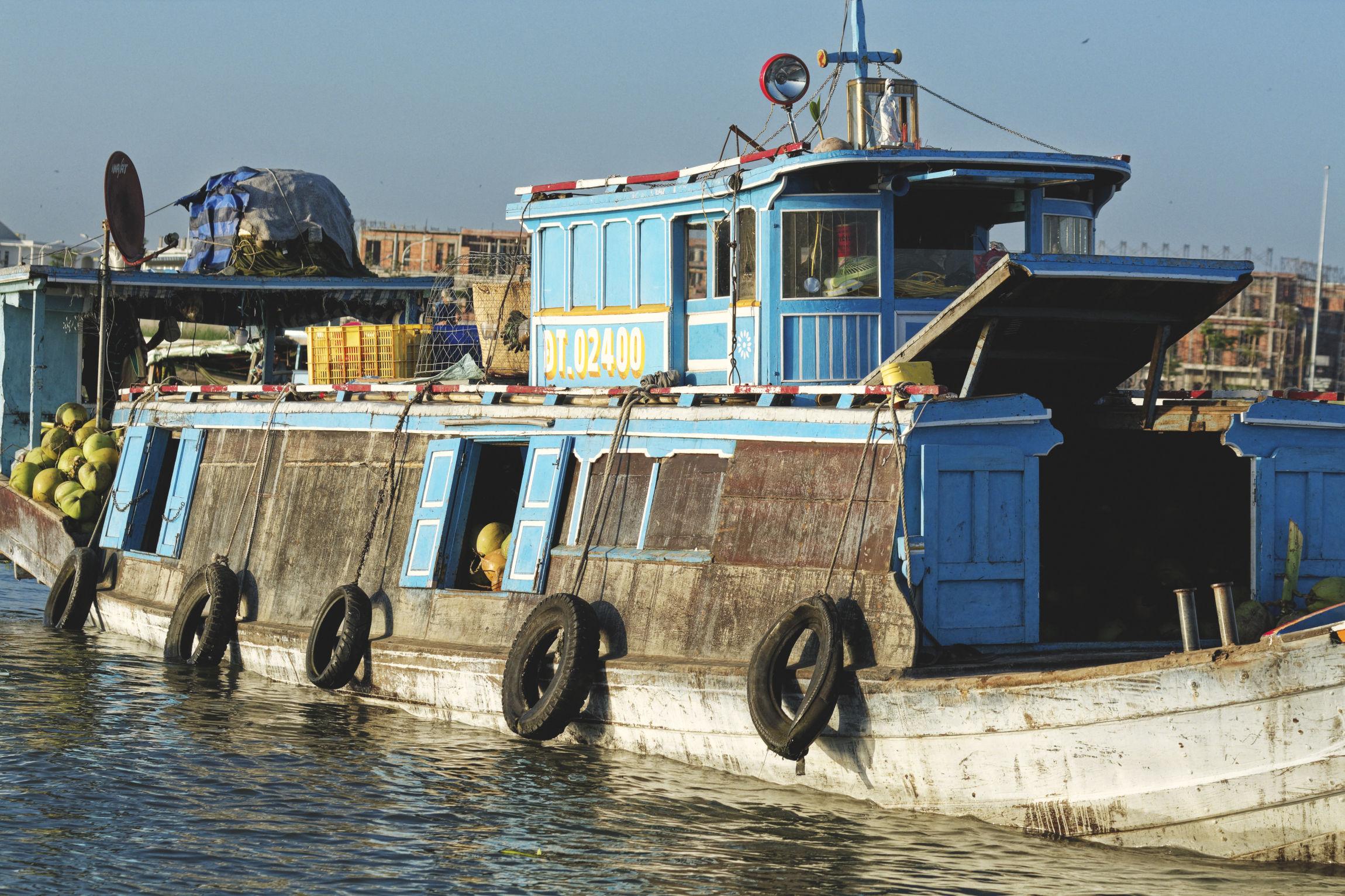 Delta du Mékong bateau