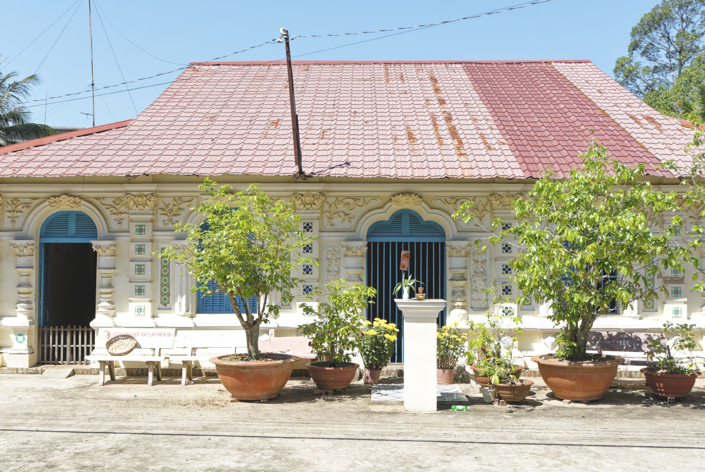 Delta du Mékong maison Ile du Tigre