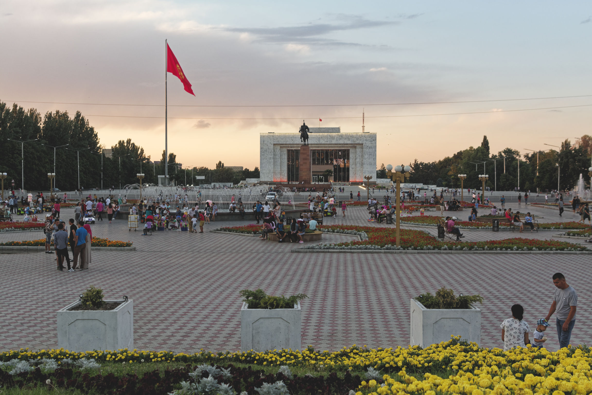 Place Ala Too Bichkek Kirghizstan