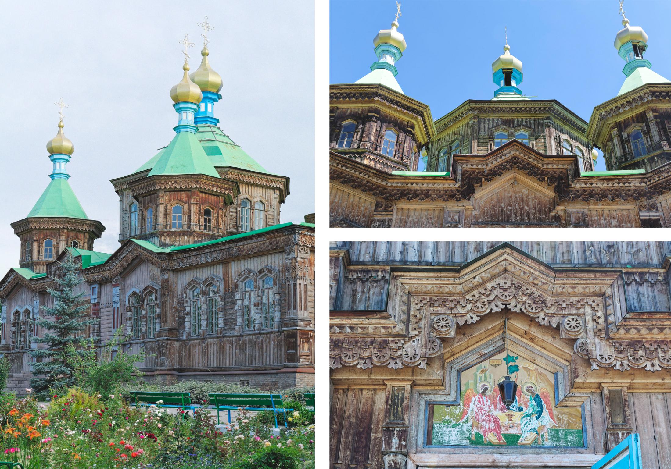 Cathédrale de la Sainte-Trinité Karakol Kirghizstan