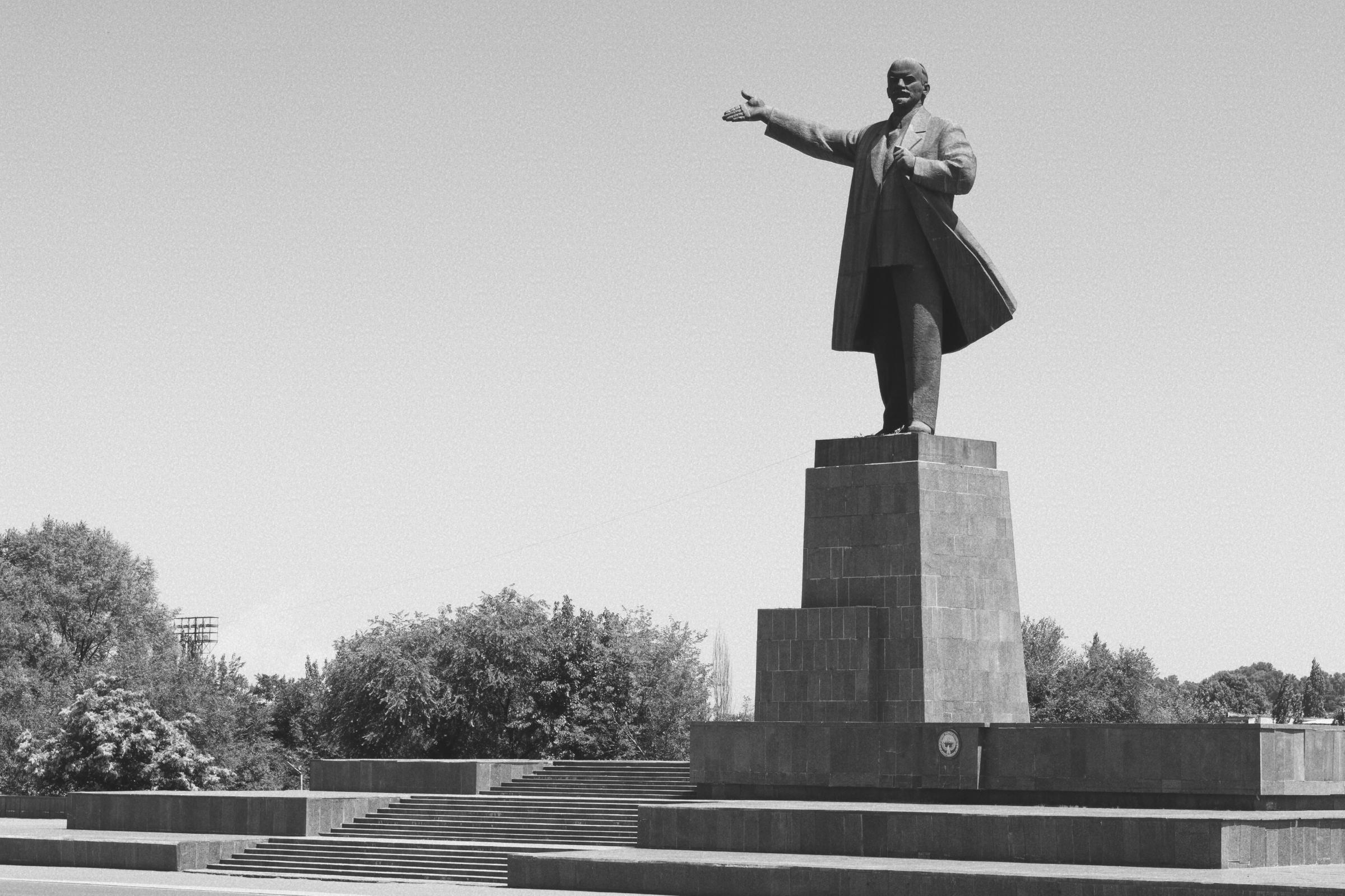 Statue de Lénine, Och, Kirghizstan