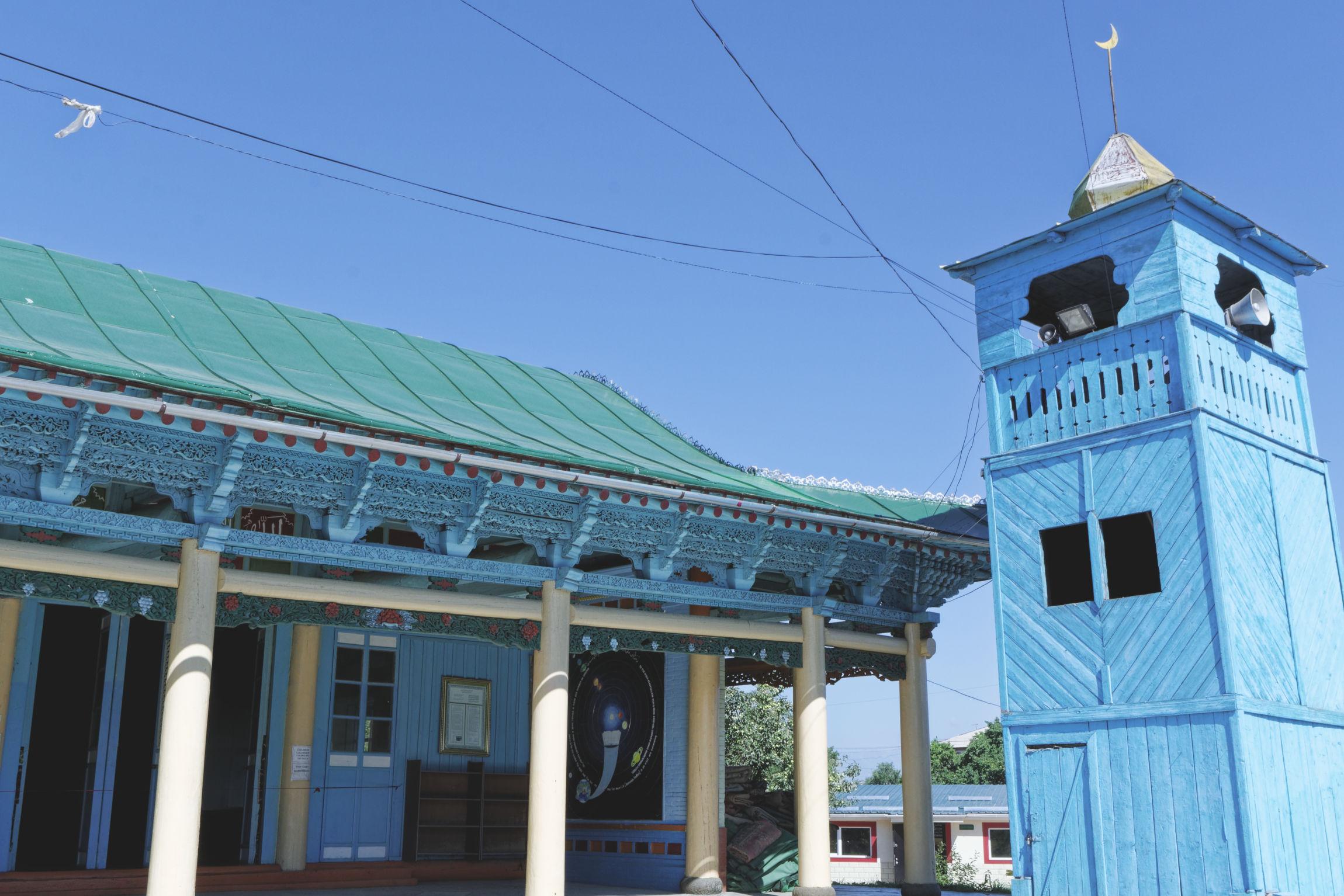Mosquée doungane Karakol Kirghizstan